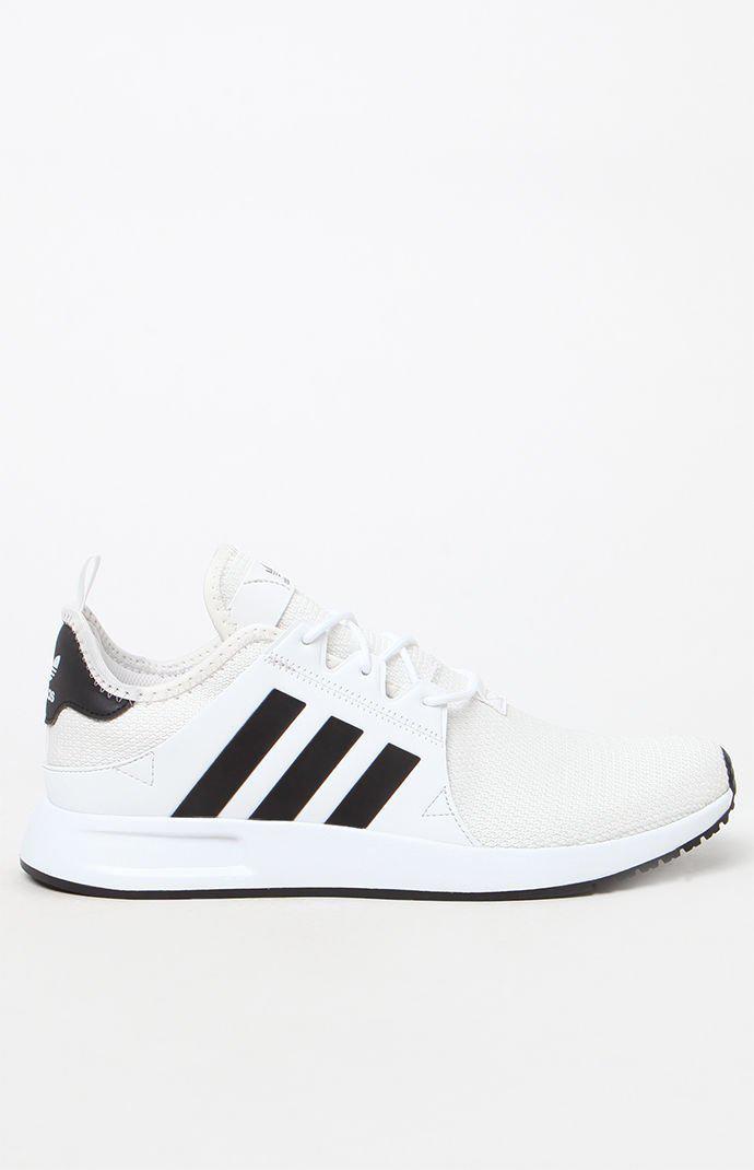 724da6bbf Adidas - X  Plr Knit White   Black Shoes for Men - Lyst. View fullscreen