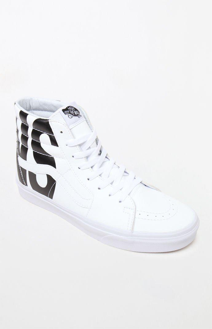 03fabad414 Lyst - Vans Classic Tumble Sk8-hi White Shoes in White for Men ...
