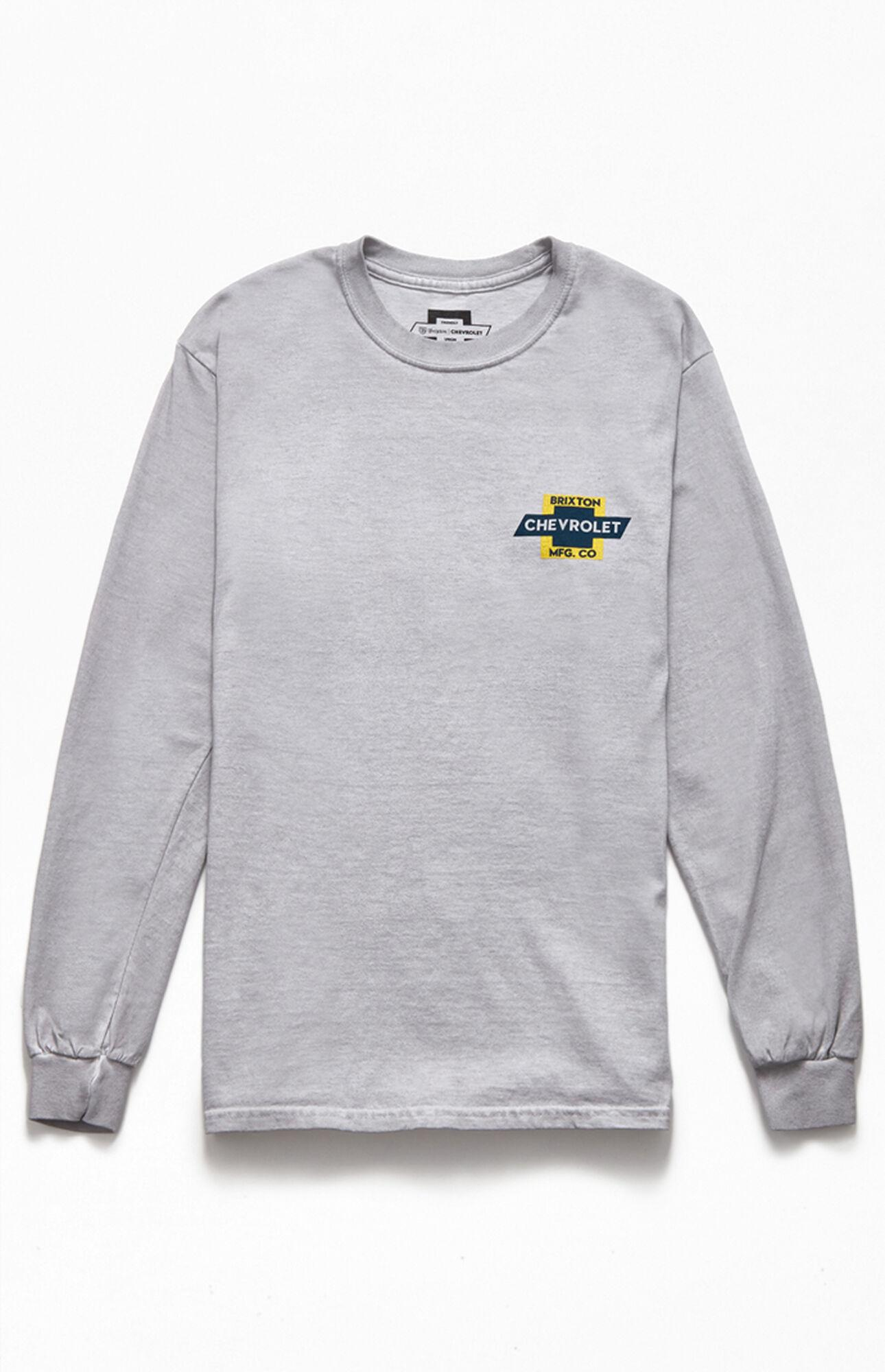 Brixton X Chevy Unity Long Sleeve T-shirt in White for Men ...