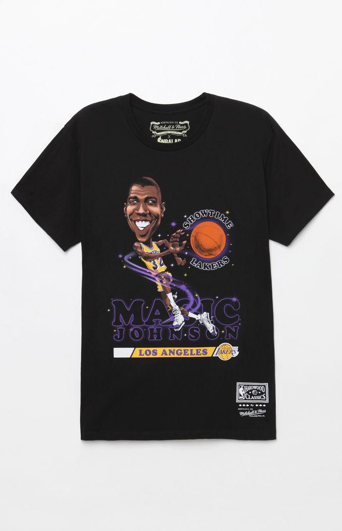 bd72b82c Mitchell & Ness Black Magic Johnson Smc T-shirt for men