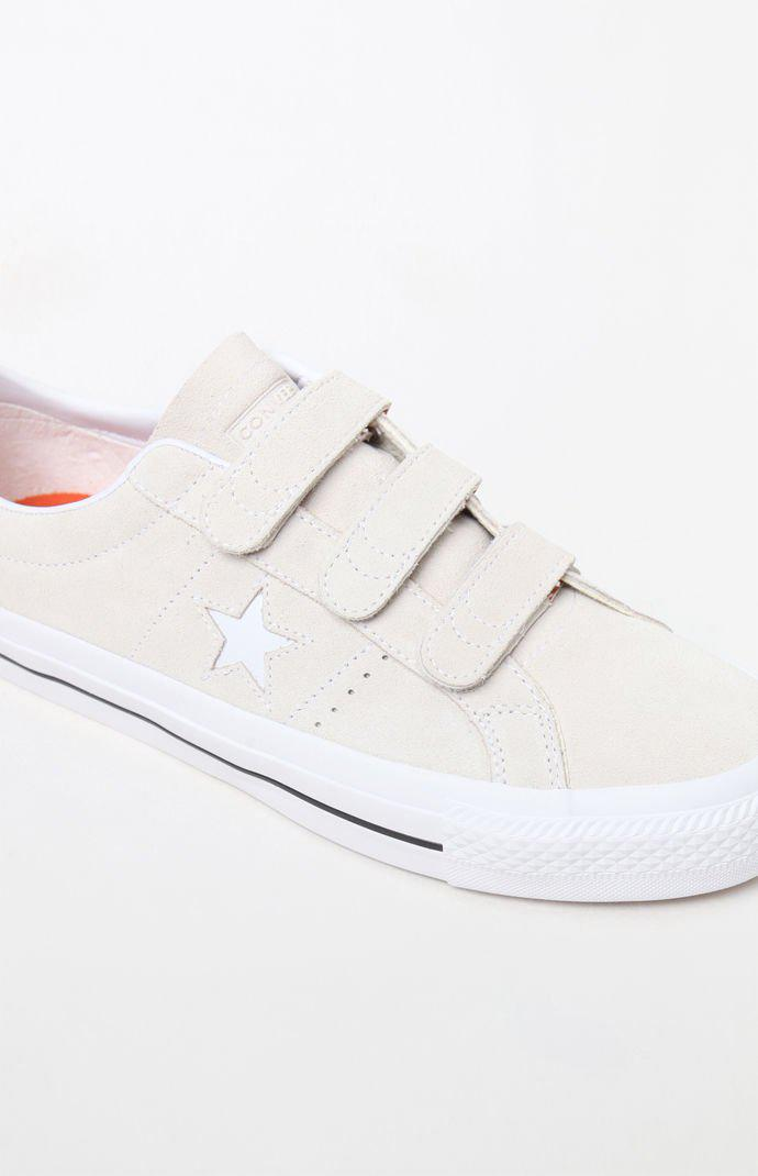 Converse One Star Pro 3v Suede Low Top