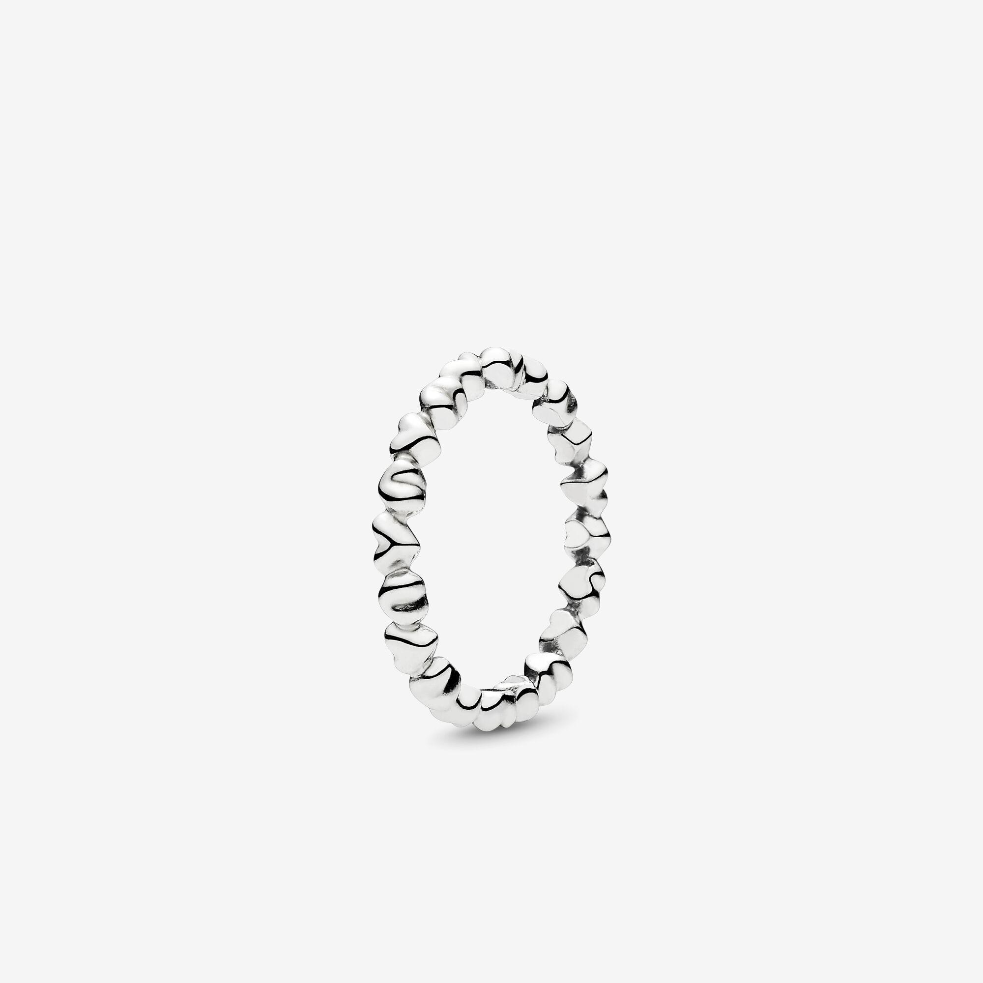 Pandora Knotted Hearts Ring In Silver Metallic Save 58 Lyst