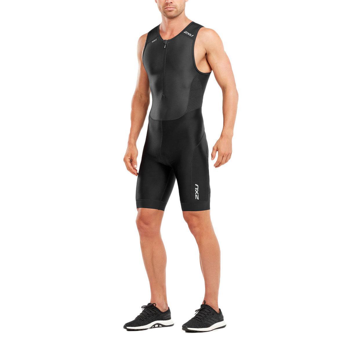 dee07399c8 Lyst - 2XU Perform Front Zip Tri Suit in Black for Men