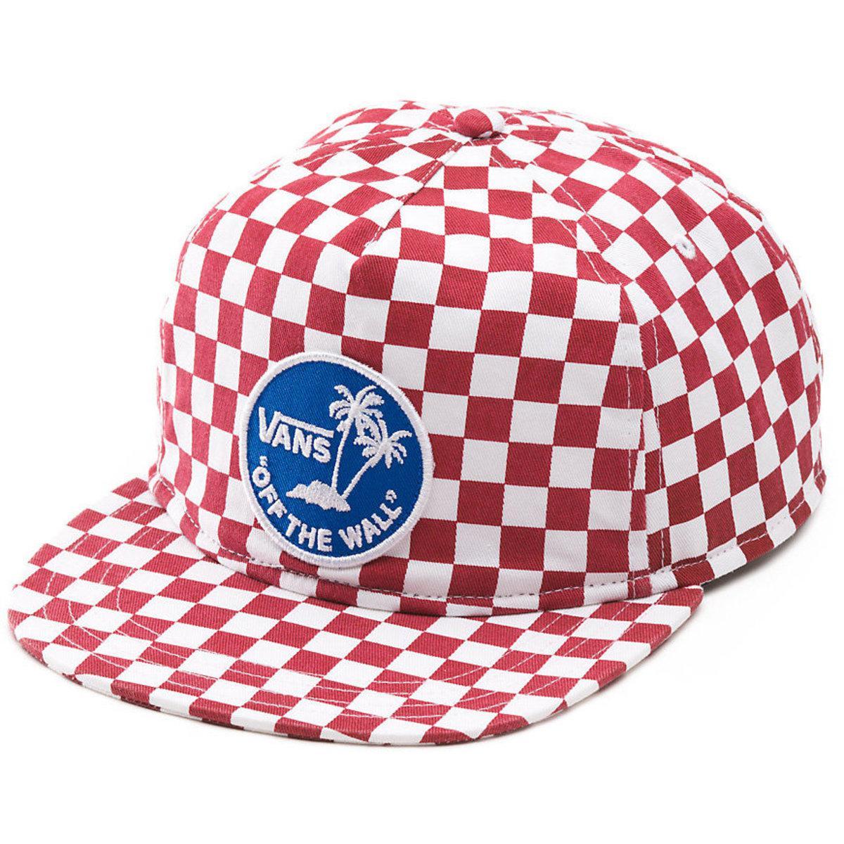 819c33599fc Vans - Red Van Doren Special Snapback Cap for Men - Lyst. View fullscreen