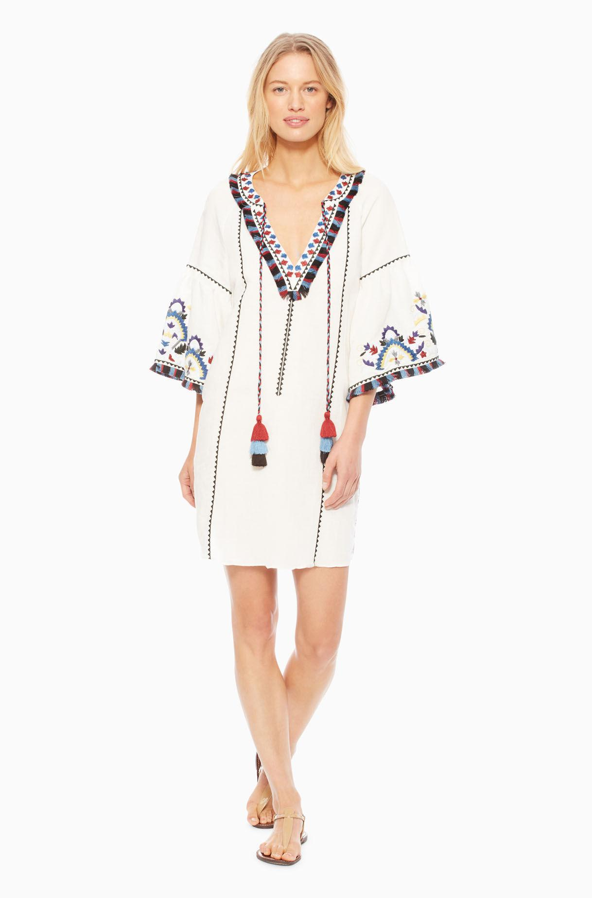 4096cdee0e Parker Tropez Cover Up in White - Lyst