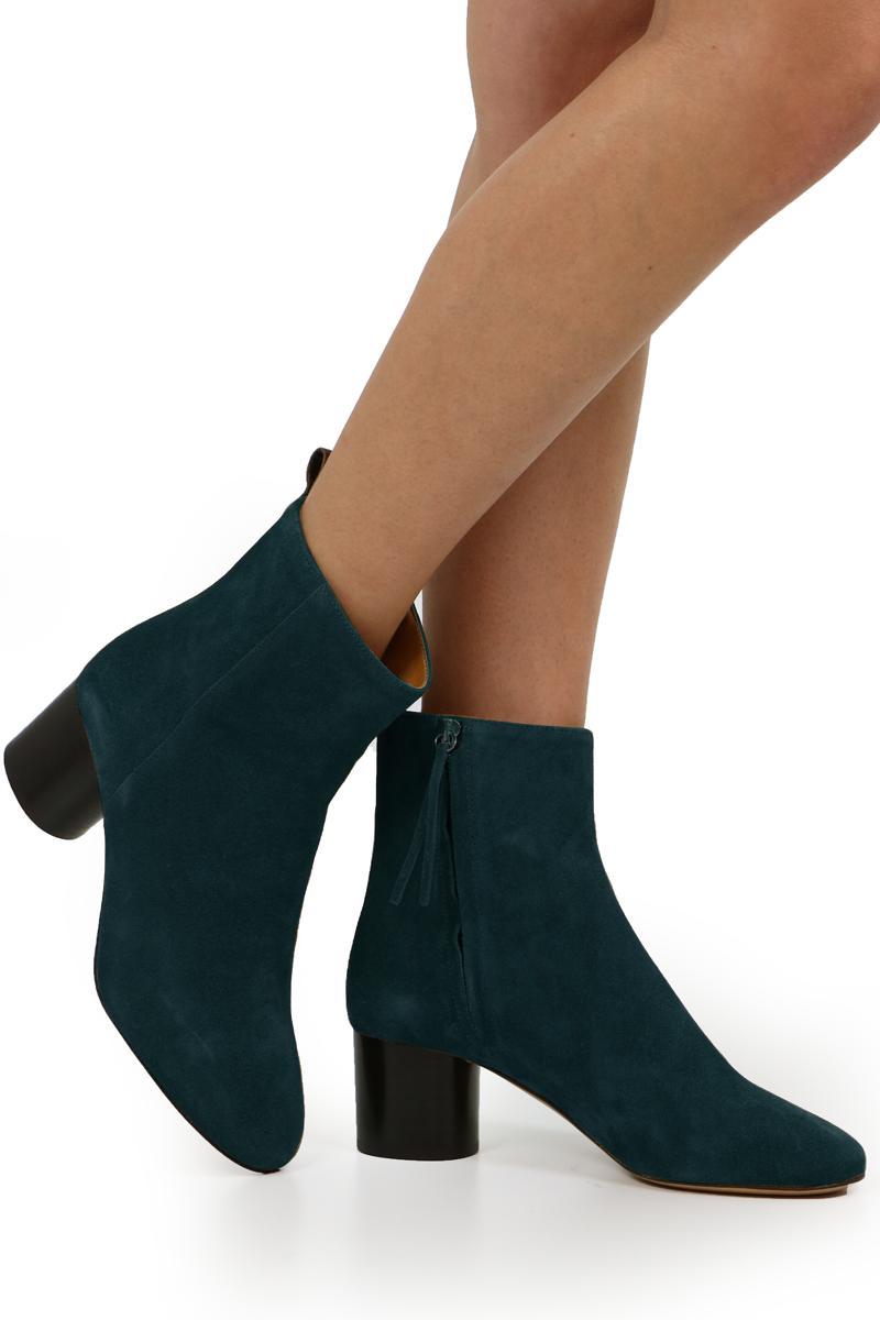 Isabel Marant Deyissa Ankle Boots Faded Black