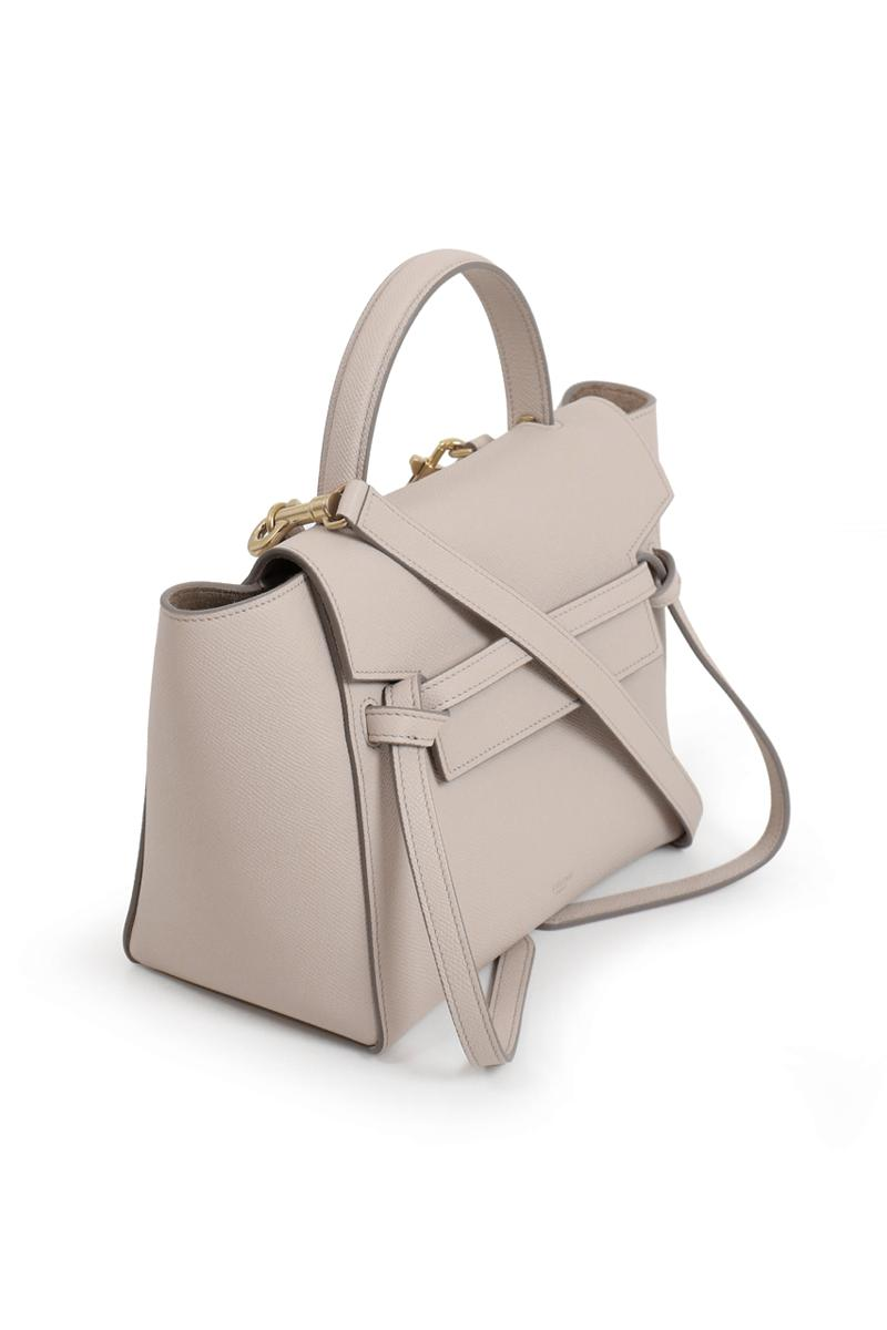 Celine Leather Micro Belt Bag Clay Lyst