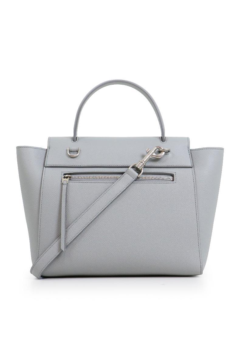 Lyst - Céline Micro Belt Bag Pearl Blue 6646b854ce56a
