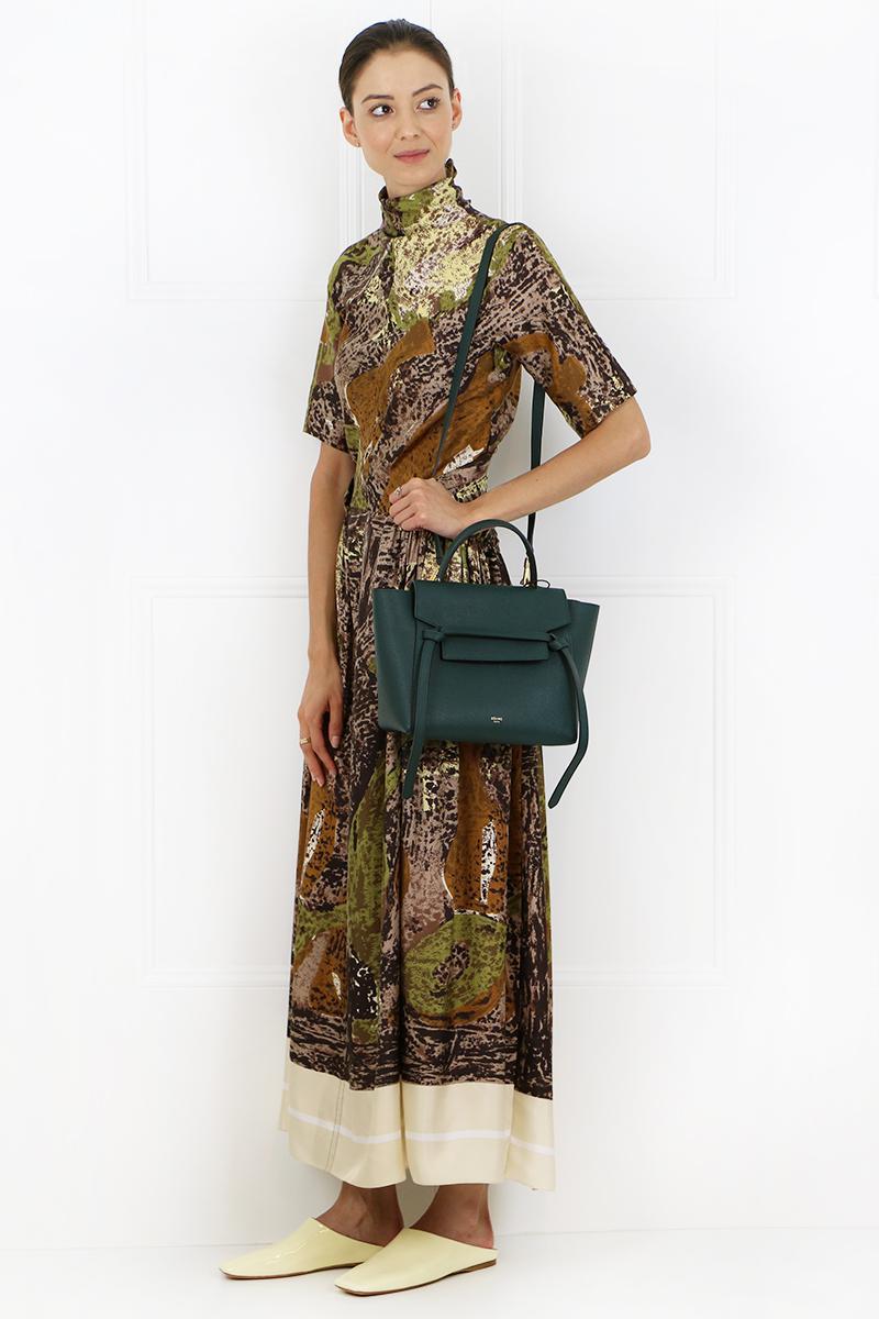 Celine Leather Micro Belt Bag Amazone Lyst
