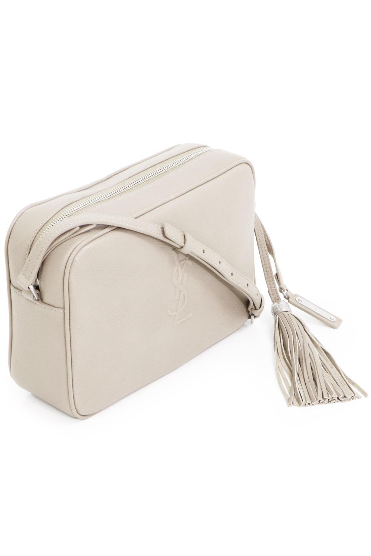 e866a9aed87 Lyst - Saint Laurent Lou Medium Camera Bag Crema Soft