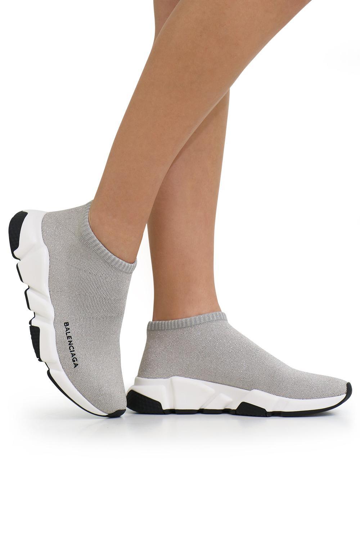 Balenciaga Speed Sneakers in Blue Lyst
