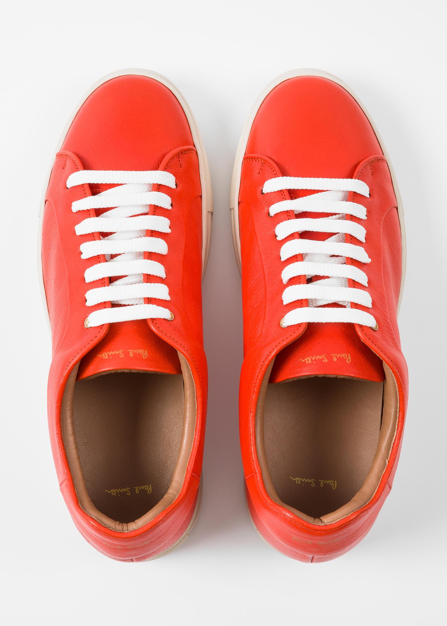 Paul Smith Burnt Orange Leather 'Basso