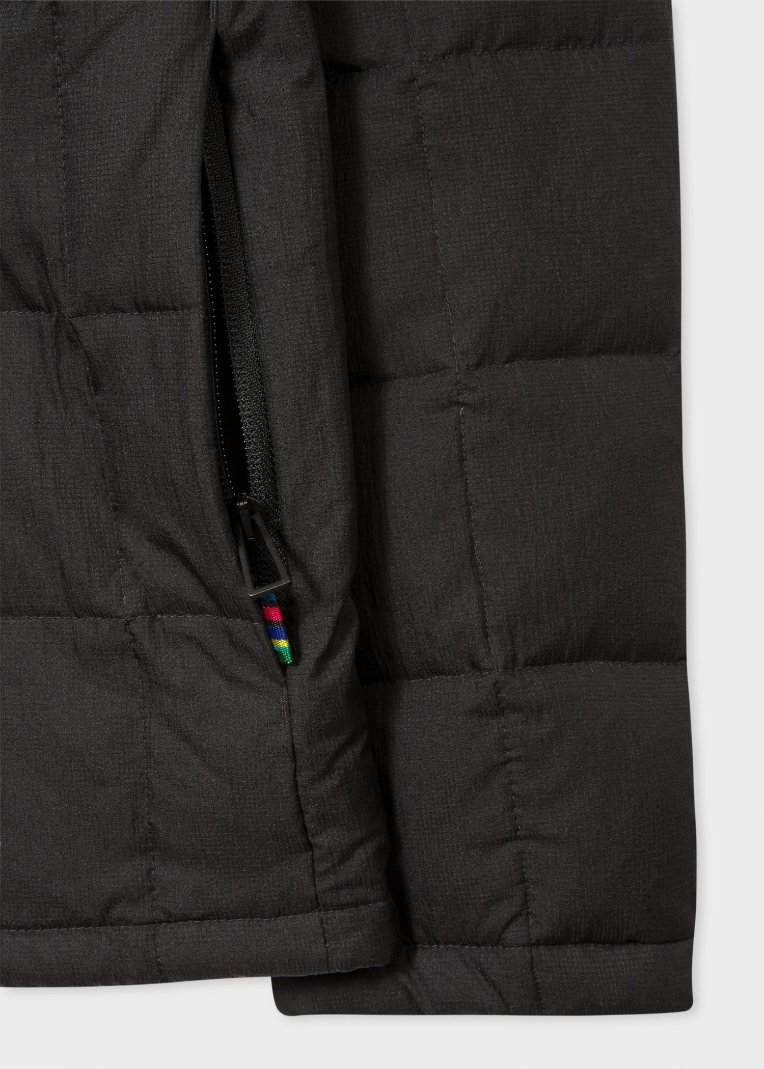 Paul Smith Synthetic Men's Black Down-filled Ripstop Coach Jacket for Men