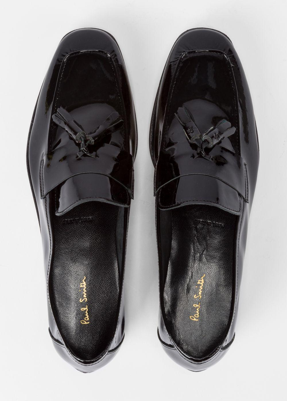 5b6496a8ee3 Paul Smith Women s Black Patent Leather  Glynn  Loafers in Black - Lyst