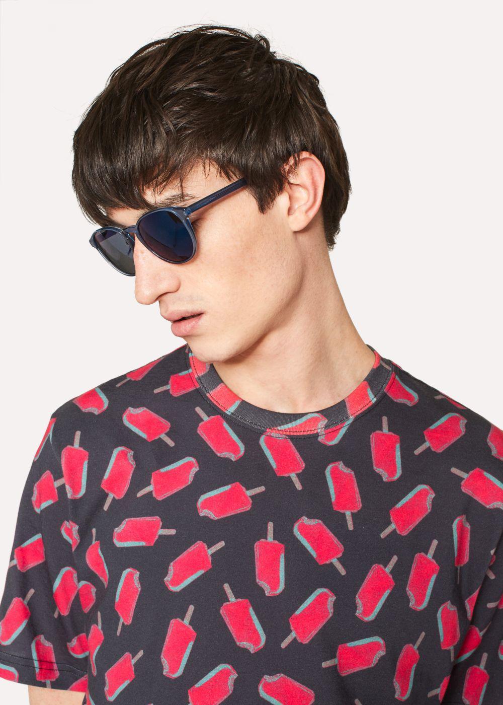 Paul Smith Blue 'Mayall' Sunglasses