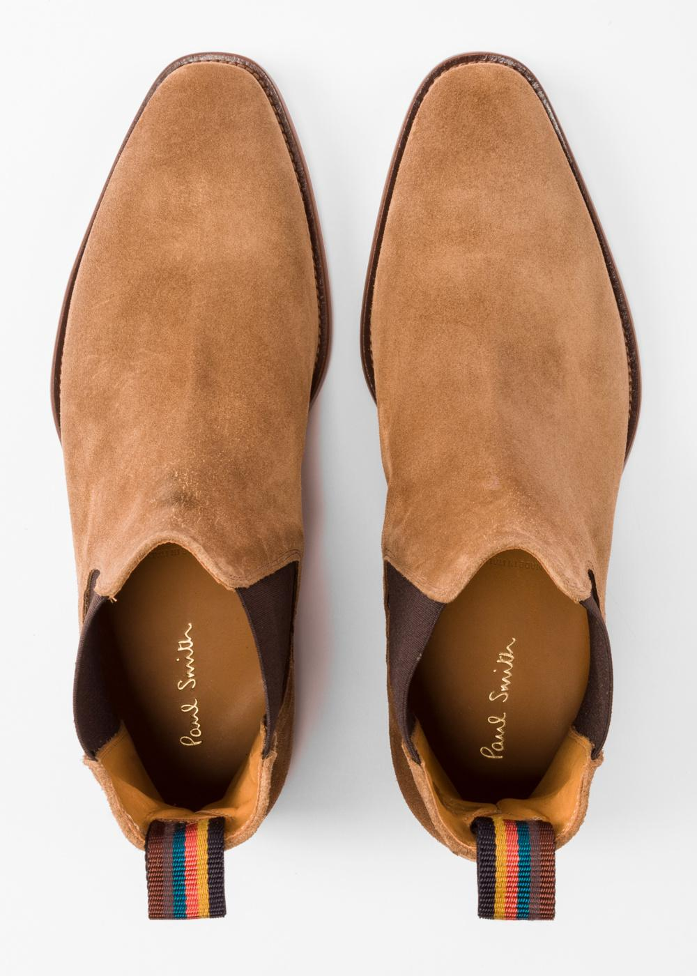 5633c2af8c8 Paul Smith Men's Camel Suede 'bobby' Chelsea Boots in Natural for ...