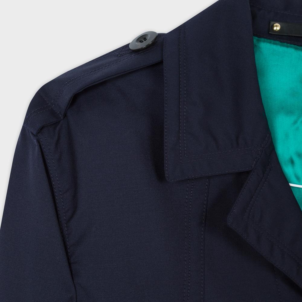 Paul Smith Men's Navy Loro Piana Storm System® Wool Field Jacket in Blue for Men