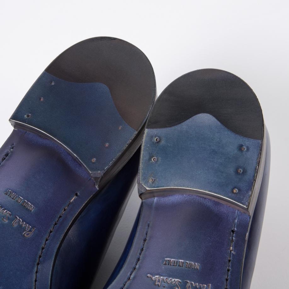 Paul Smith Men's Cobalt Blue Parma Calf Leather 'christo' Brogues in Purple for Men