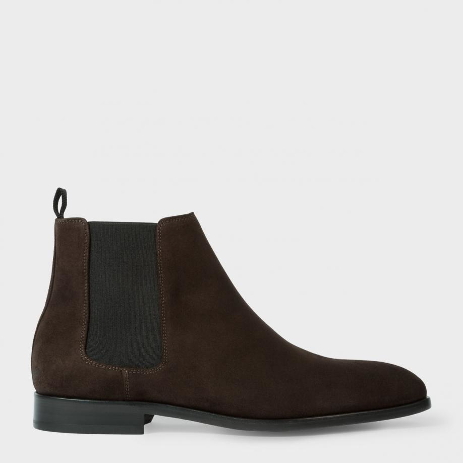 brown suede chelsea boots men wwwimgkidcom the image