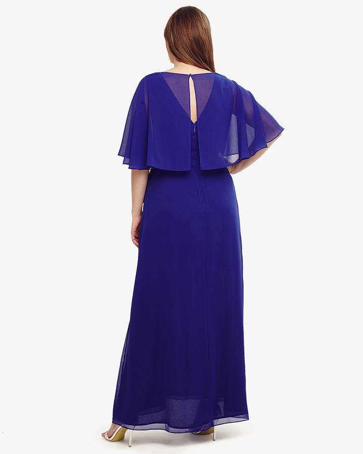 Lyst - Phase Eight Opal Maxi Bridesmaid Dress in Blue