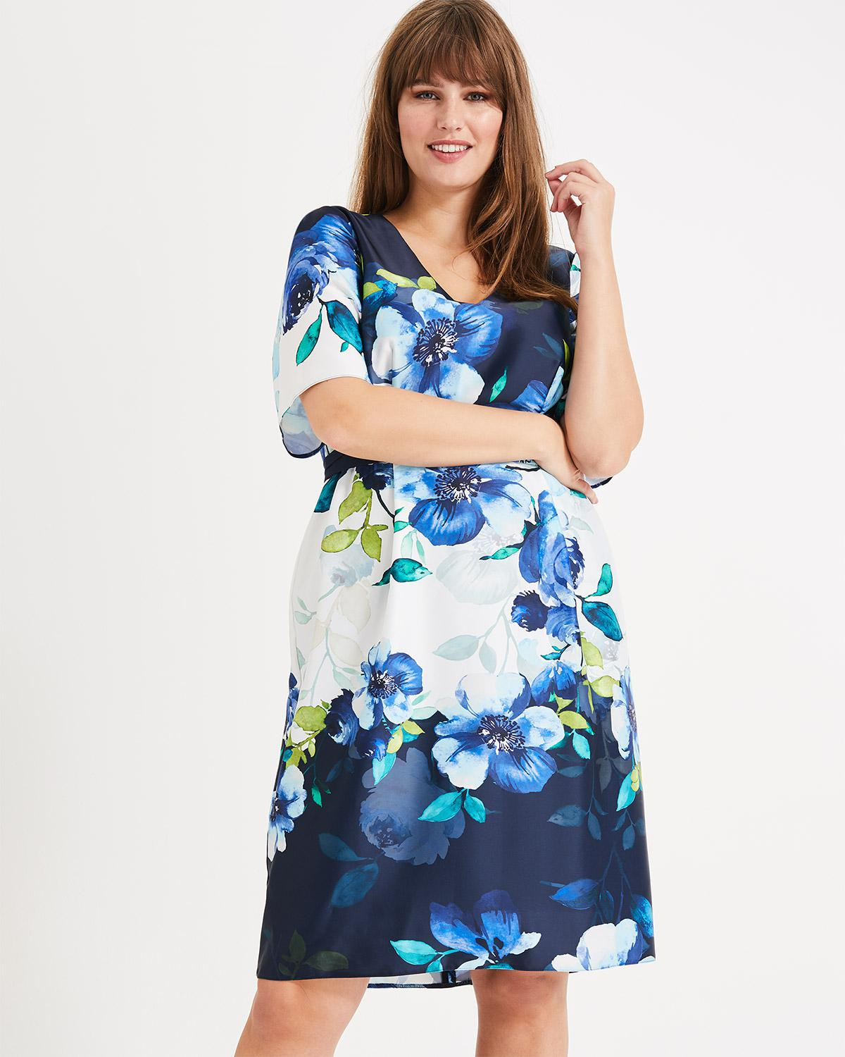 98eca2a8e9 Lyst - Phase Eight Anise Floral Dress in Blue