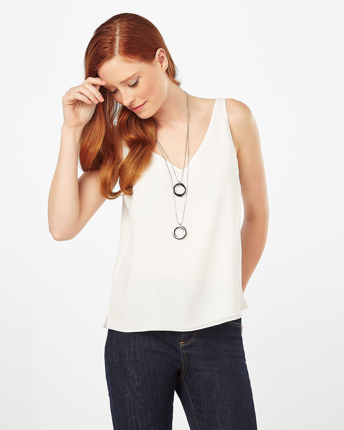 Phase Eight Olivia Double Layer Necklace