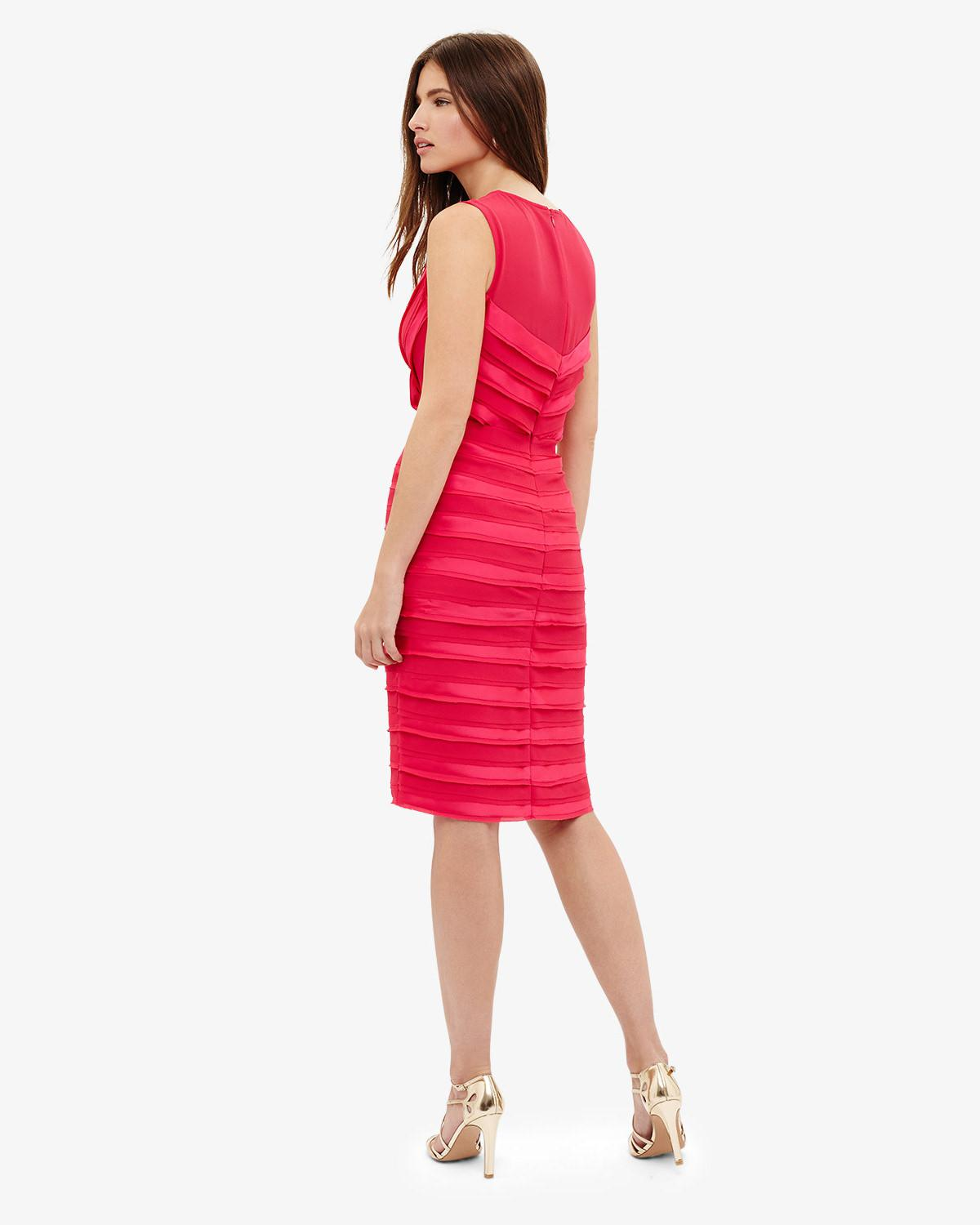 Lyst - Phase Eight (d)sadie Layered Dress in Pink 5529961ea