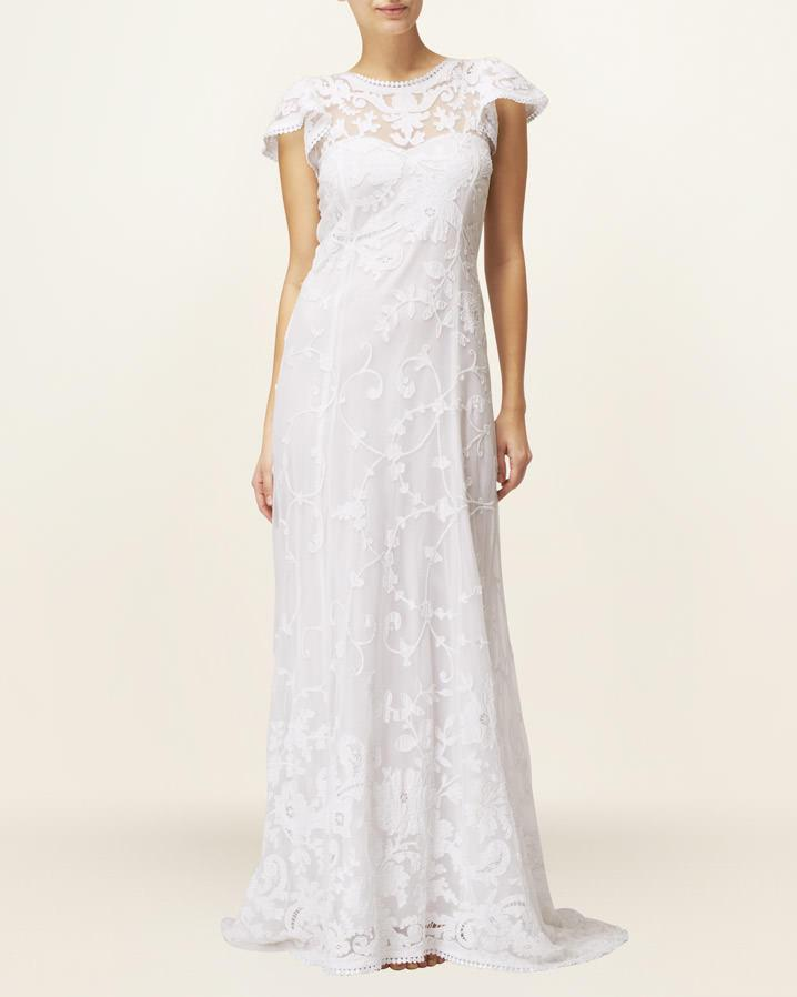 Lyst phase eight emma wedding dress in white for Phase eight wedding dresses