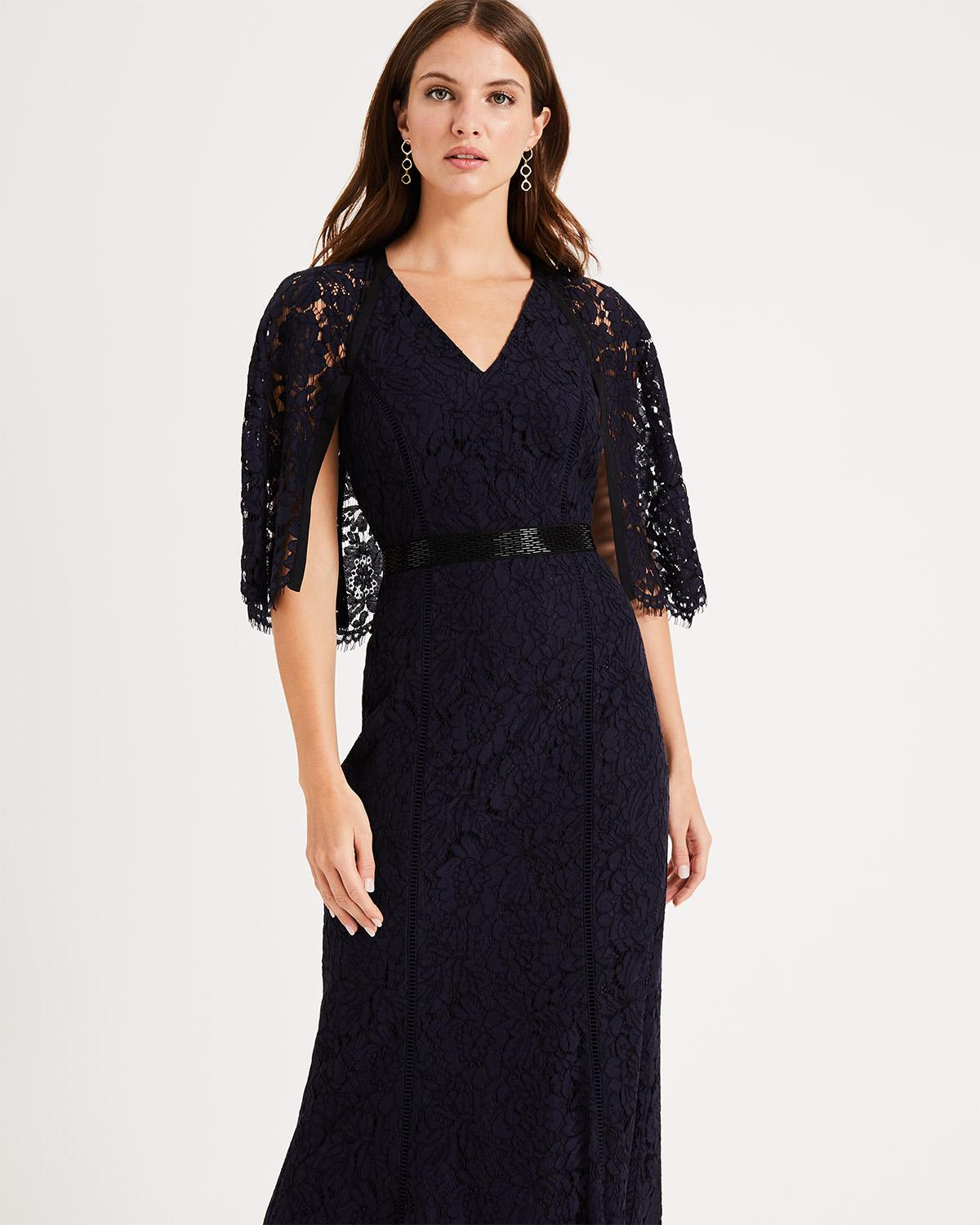 838940713b1 Phase Eight Cianna Lace Maxi Dress in Blue - Lyst