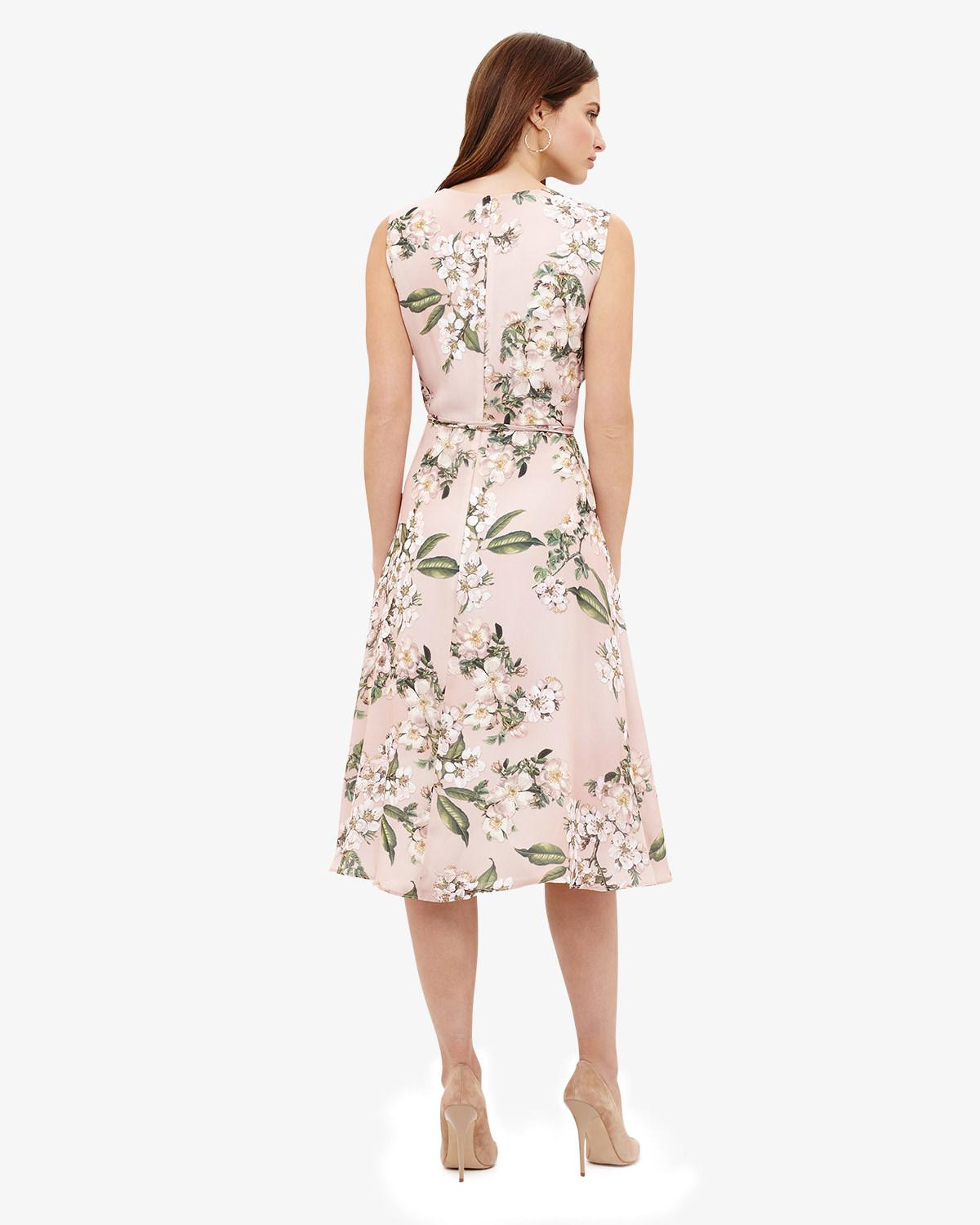 329466c47c2c Lyst - Phase Eight Multi-coloured Tanisha Floral Dress in Pink