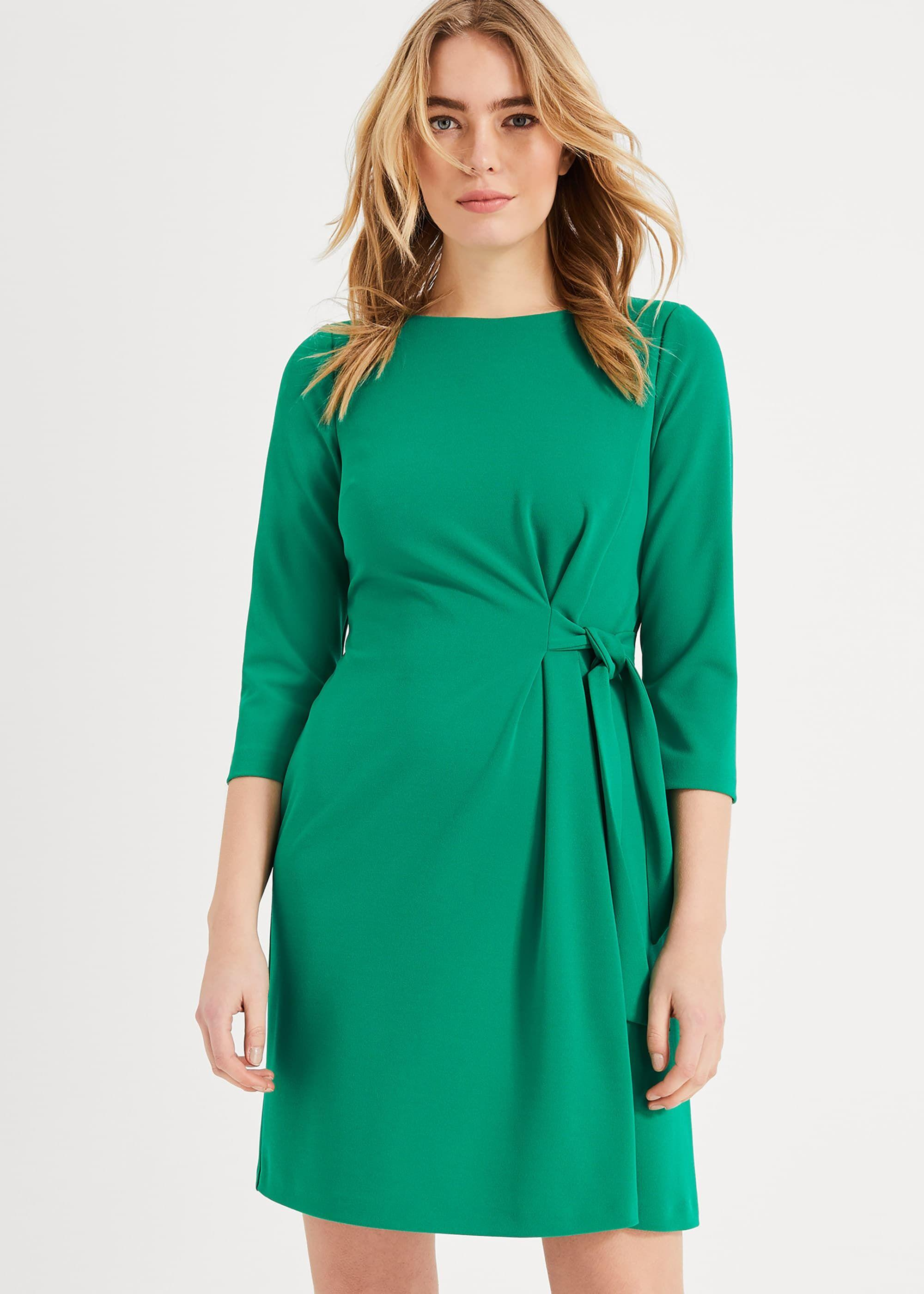 d12b83e4fc1 Phase Eight Thelma Tie Side Dress in Green - Save 20% - Lyst