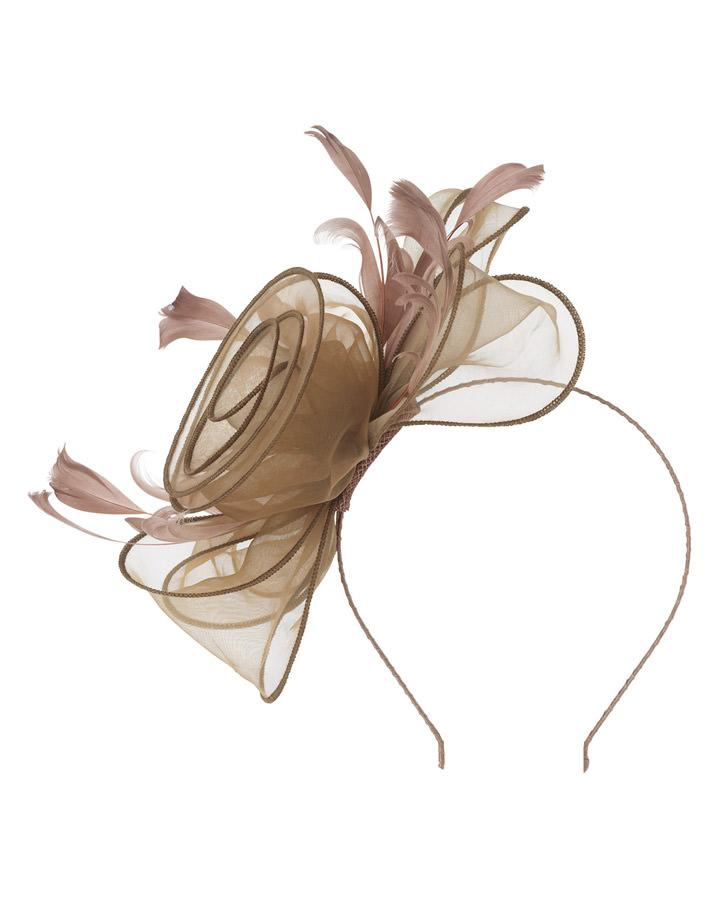 Lyst - Phase Eight Organza Rose Fascinator 86dff8060d5