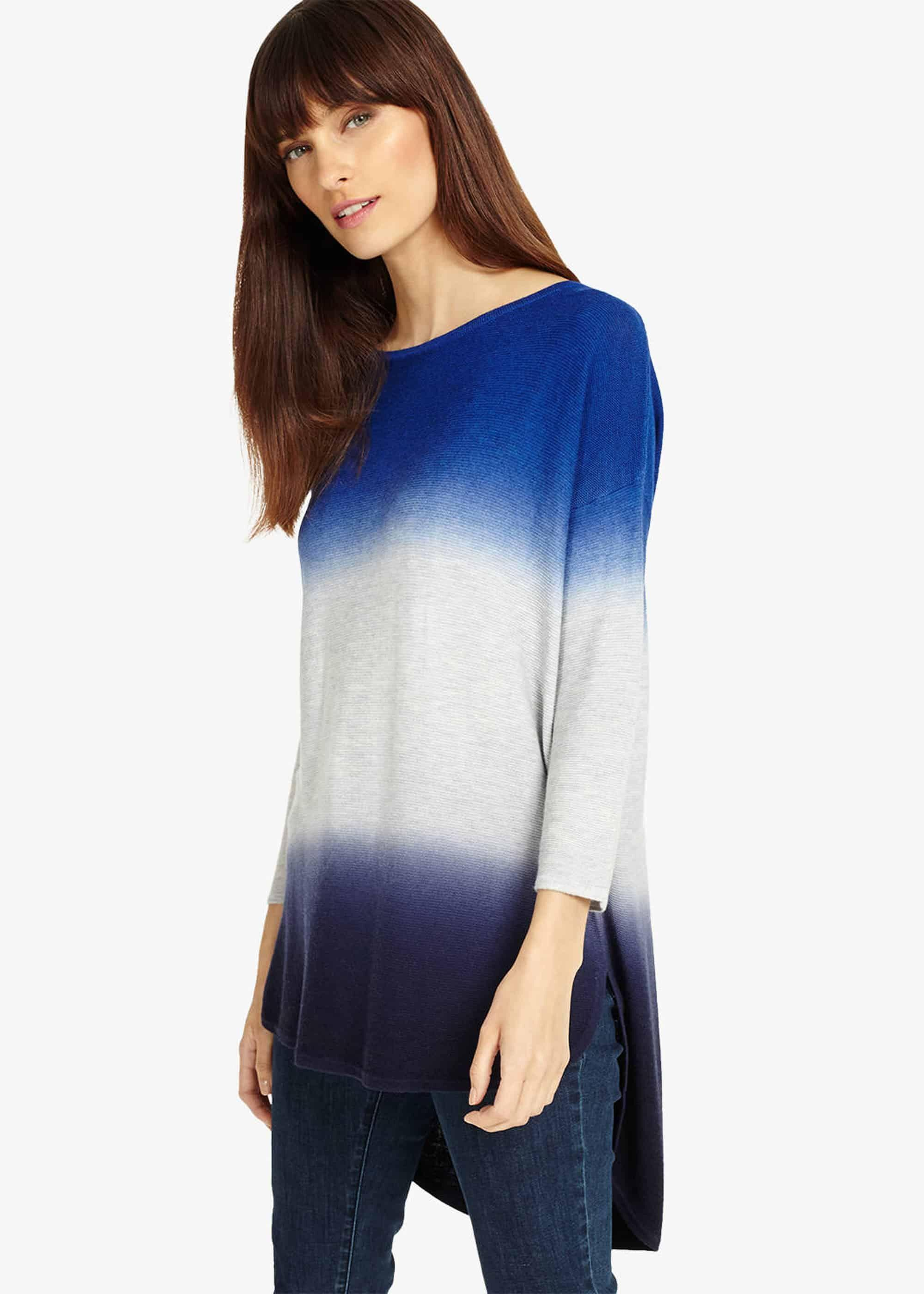 bc03070ace8 Women's Blue Lynda Double Dip Dye