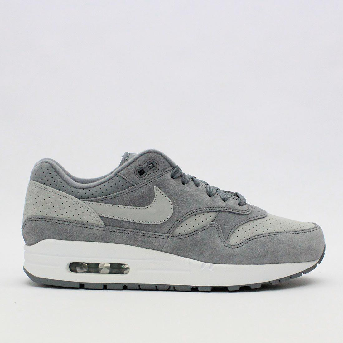 ef8d0bfcad9 Lyst - Nike Trainers Nike Air Max 1 Premium Cool Grey 875844 005 in ...