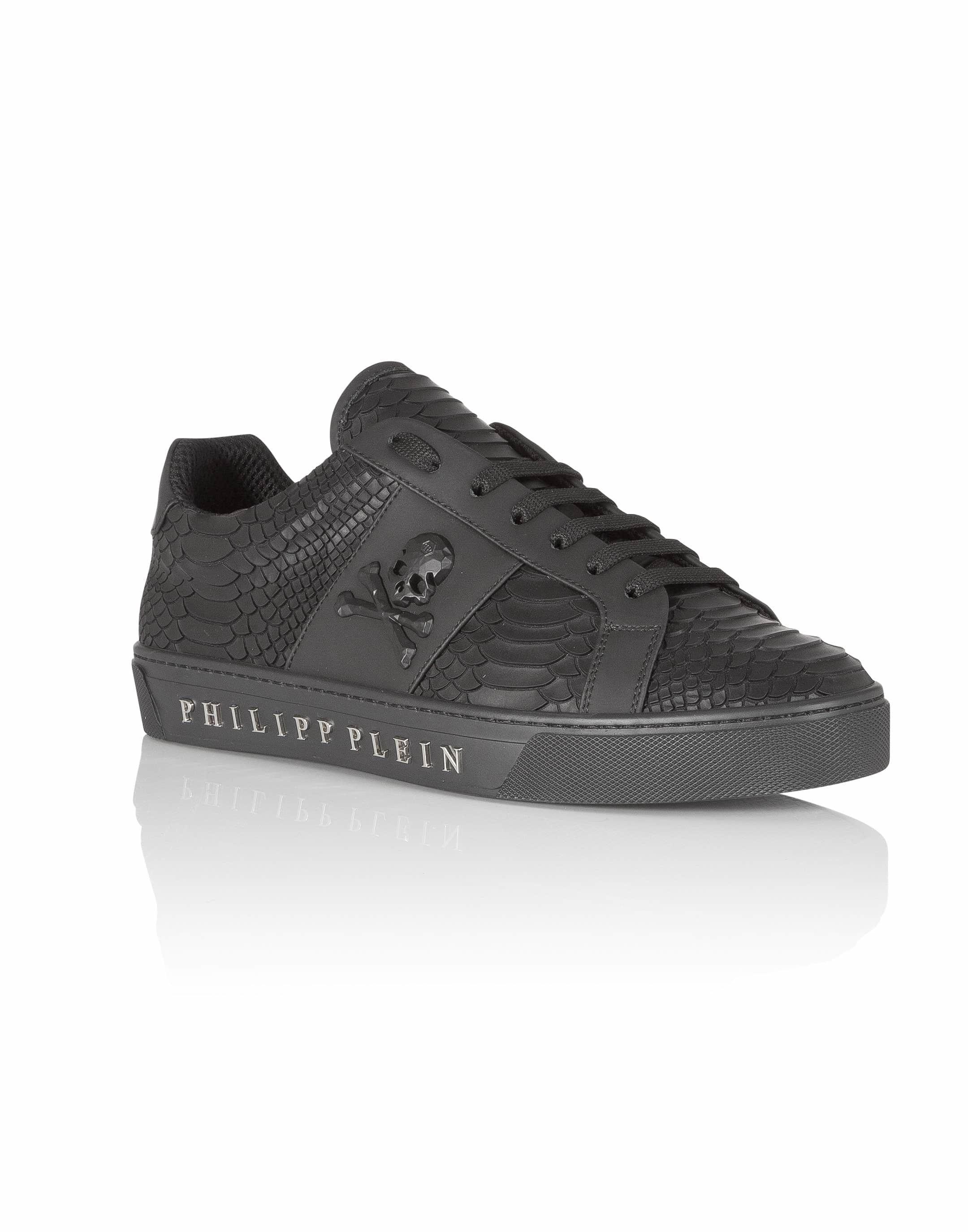 "Philipp Plein Lo-Top Sneakers ""talk slow"""