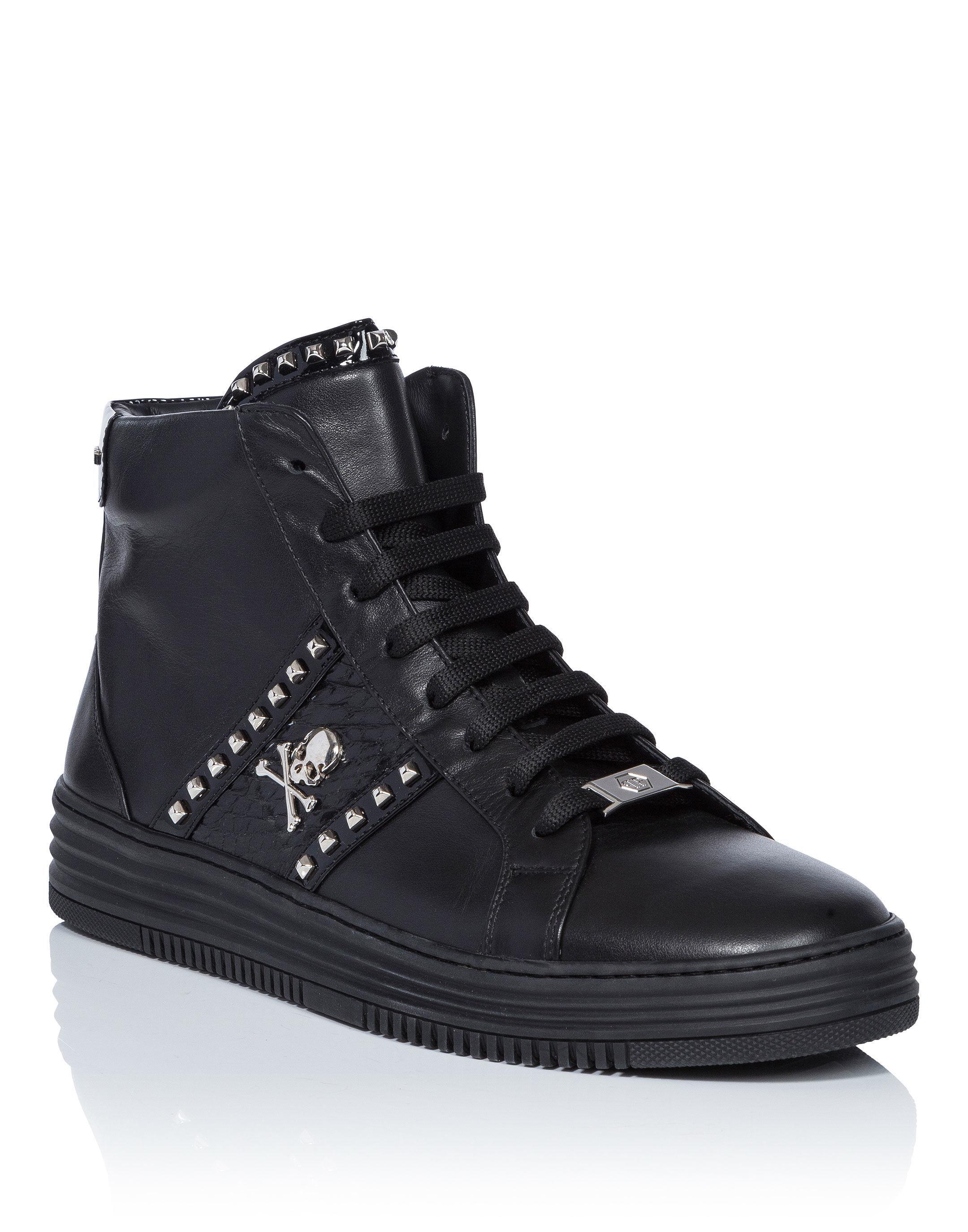 Vancouver hi-top sneakers - Black Philipp Plein 3g8c6LRubv