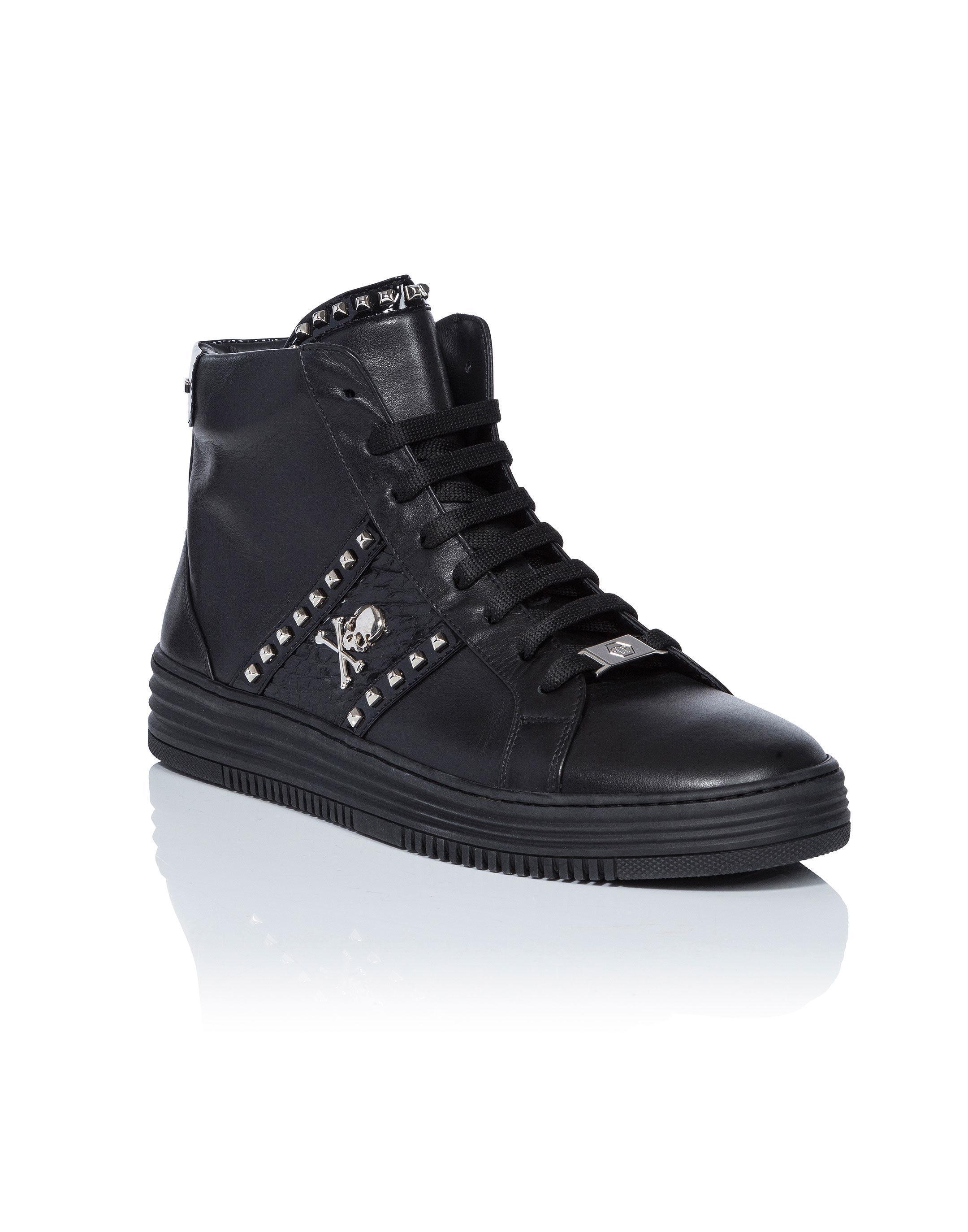 Vancouver hi-top sneakers - Black Philipp Plein D3itj6m