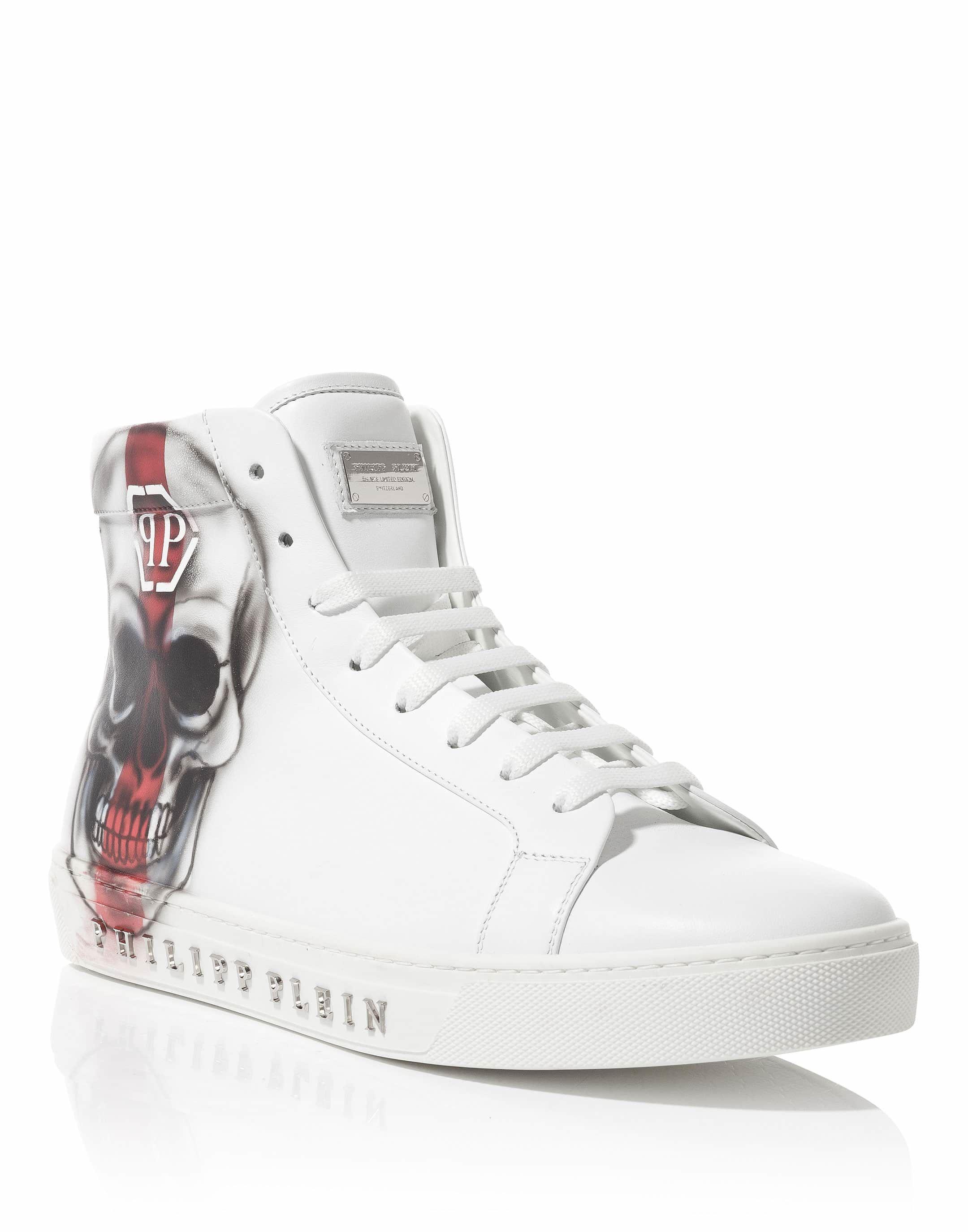 Top Five hi-top sneakers - White Philipp Plein Sjo0svYU