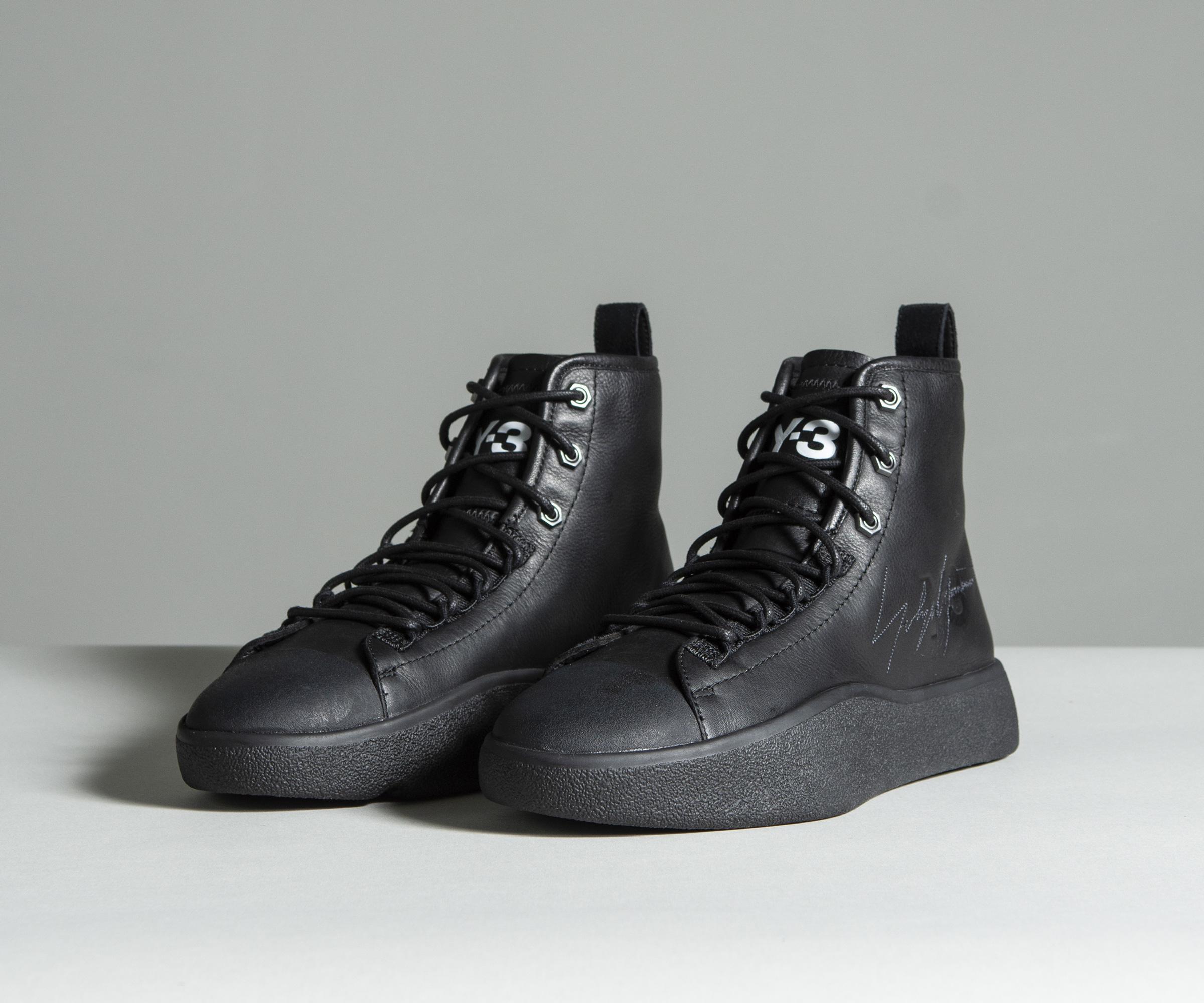 Y-3 Suede Bashyo Ii In Black for Men - Lyst