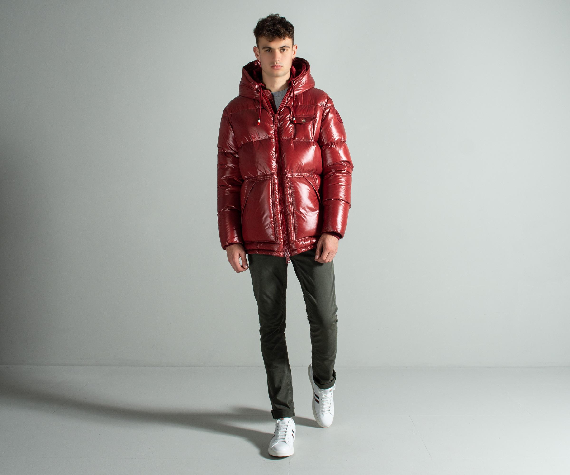 823c13134 Moncler Genius Project 2 - 'apremont' Hooded Down Jacket Deep Red ...