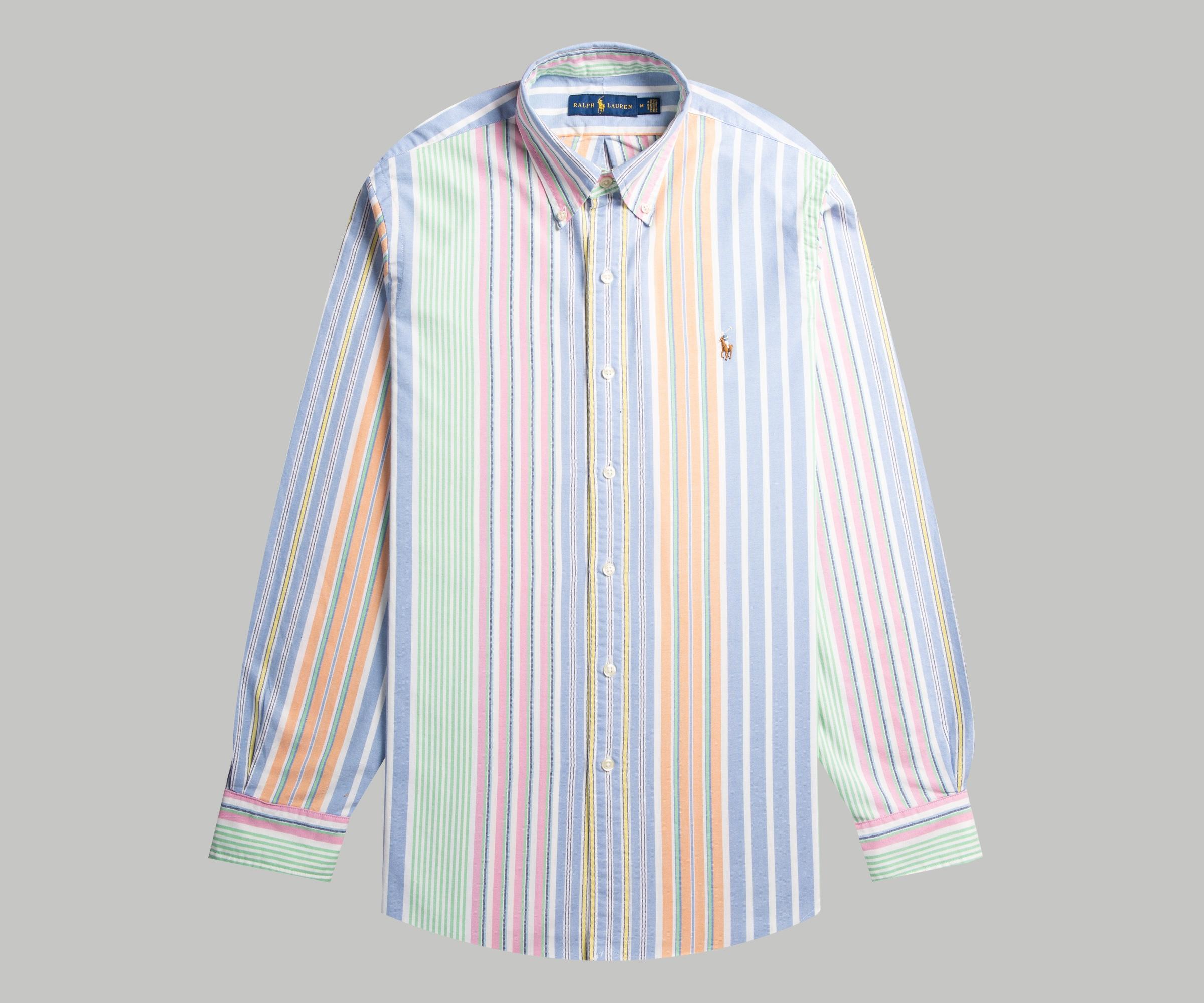 Polo Ralph Lauren Multi-Striped Oxford Shirt   Polo ralph
