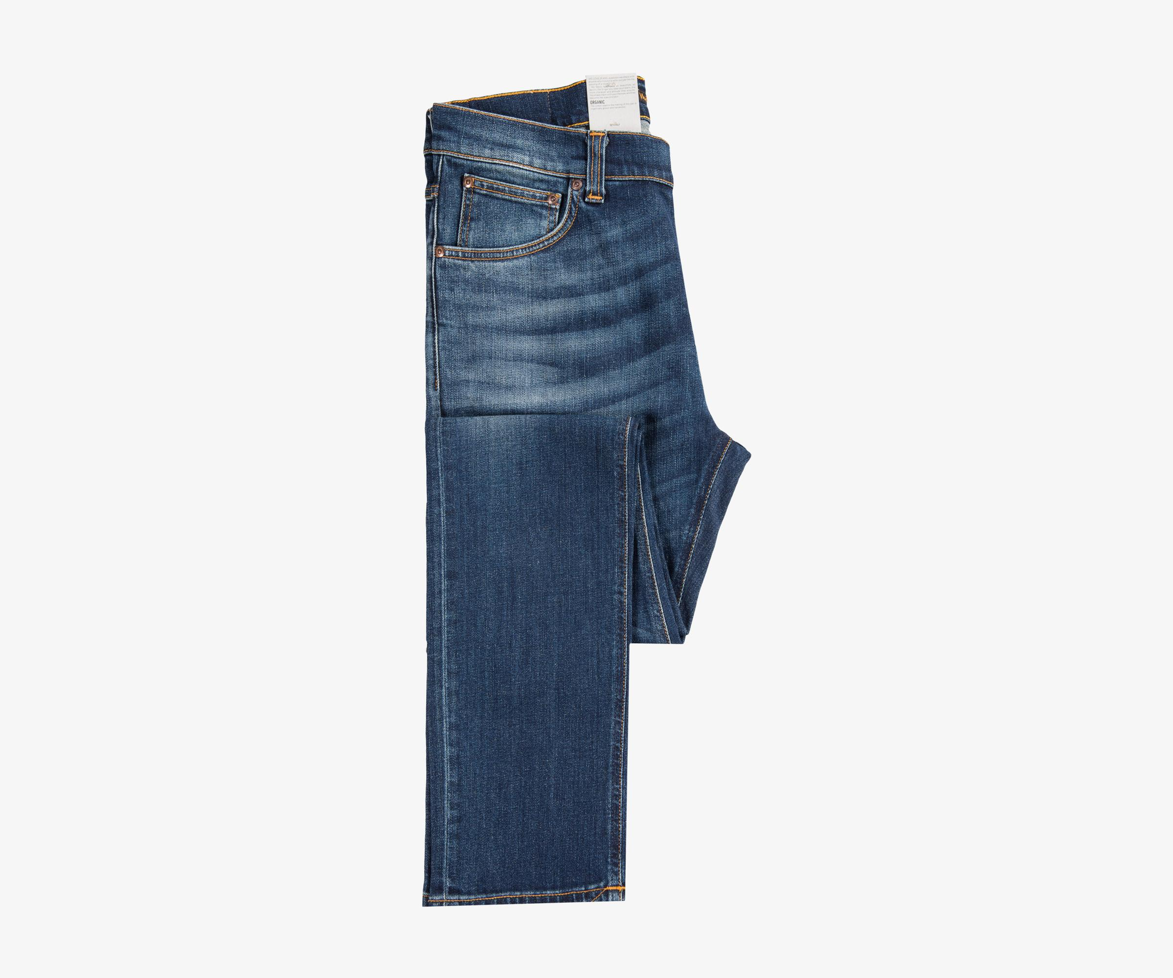 Nudie Jeans Denim Lean Dean Comfort Stretch Jean Crispy Bora in Blue for Men