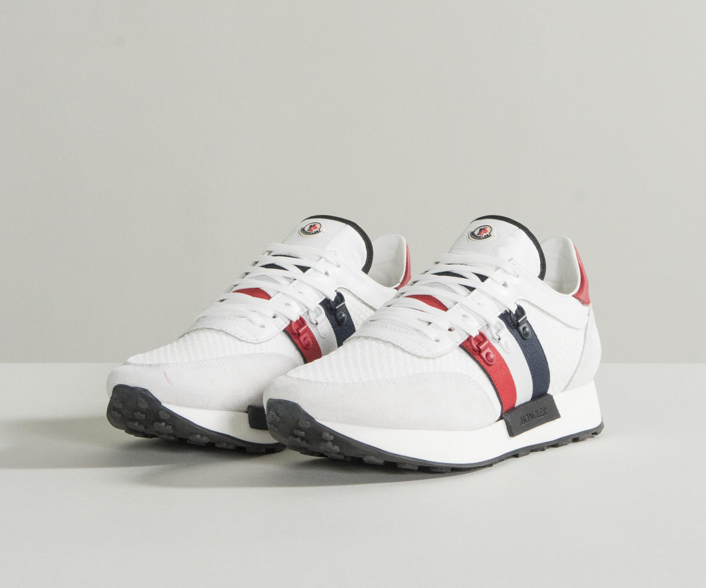 de0af2e48 Lyst - Moncler  new Horace  Trainers White in White for Men - Save 3%