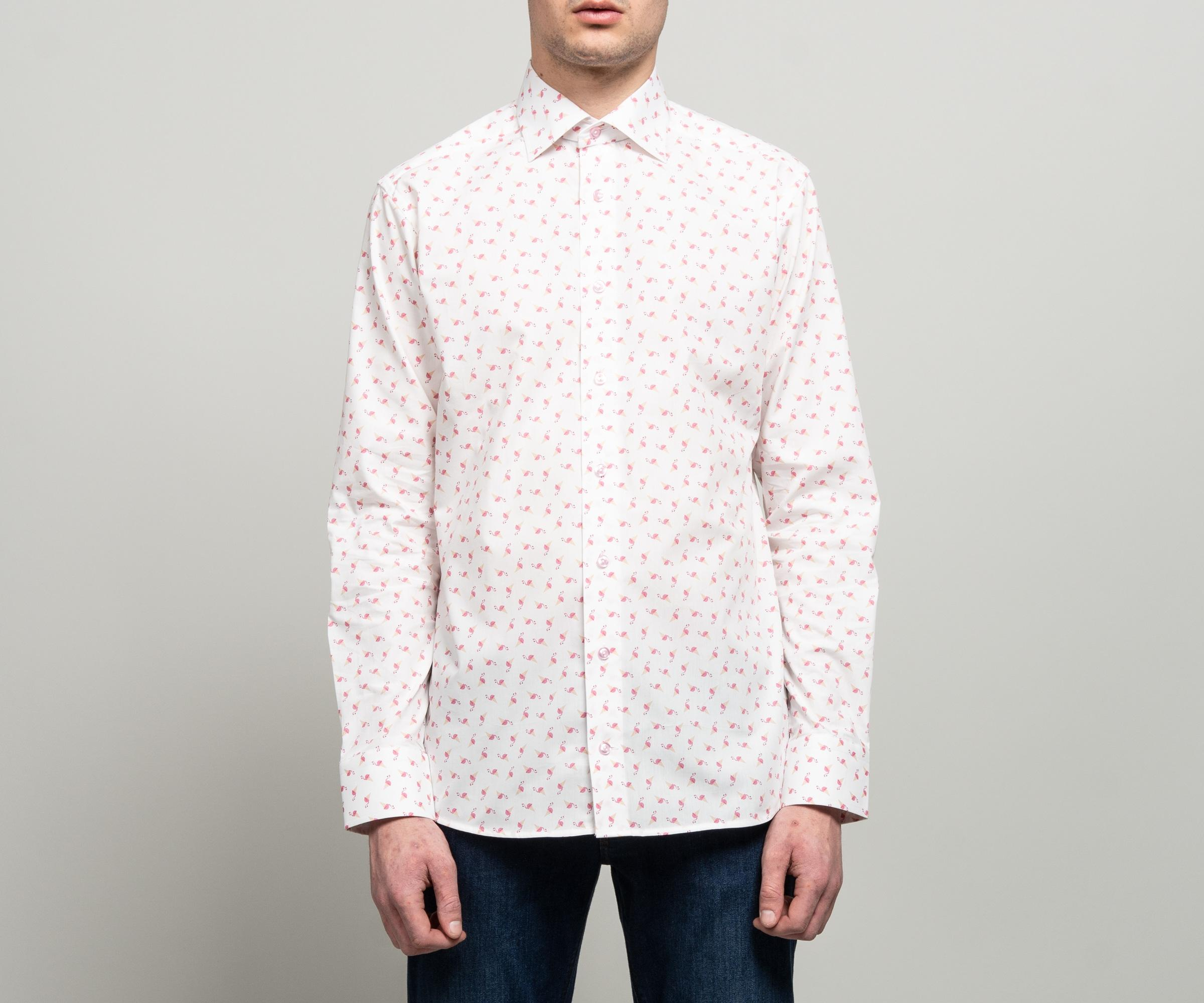 pipigo Mens Business Long Sleeve Slim Casual Lapel Button Up Dress Work Shirt