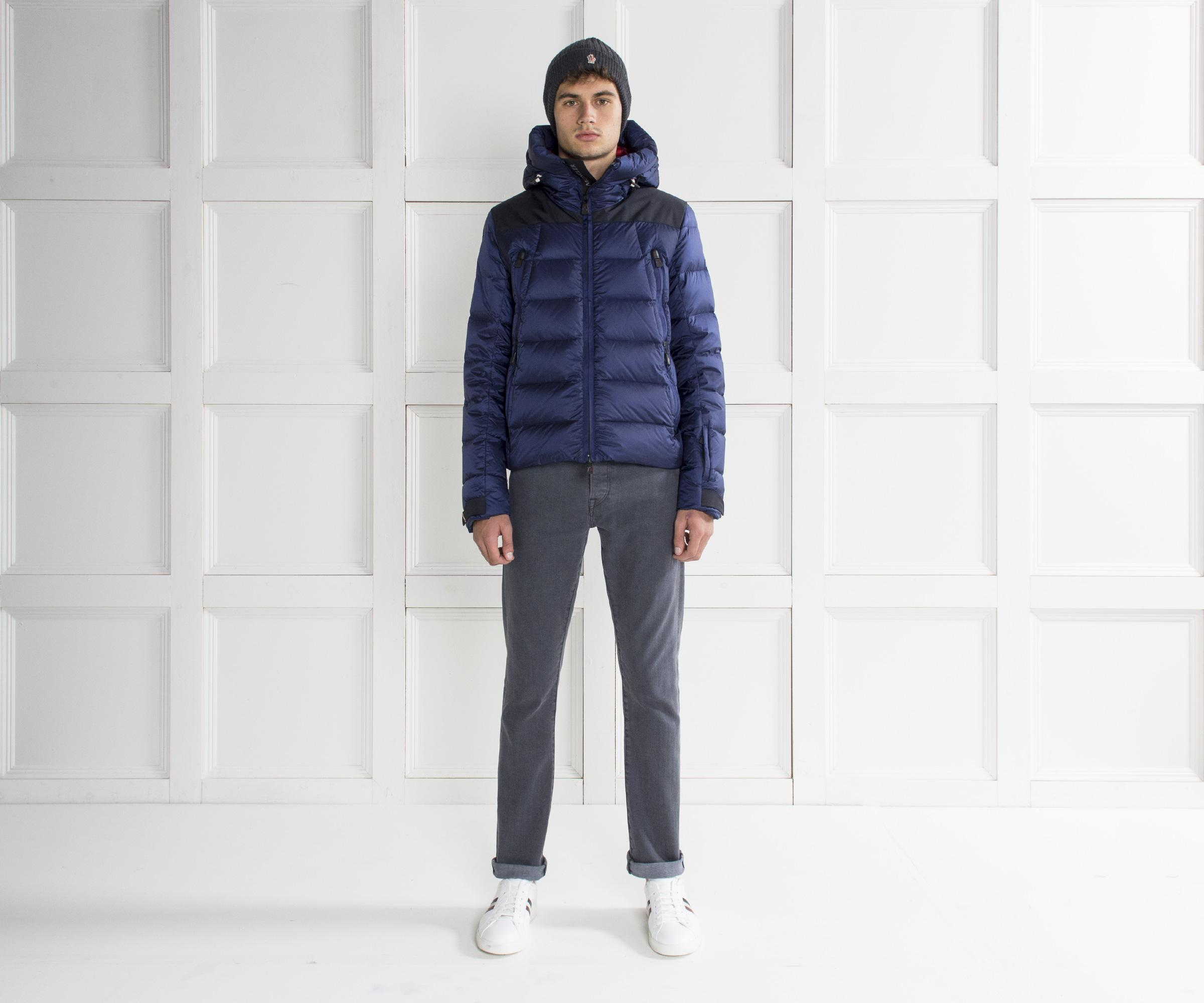 e94c1df9f9fbe Moncler Grenoble  camurac  Quilted Down Jacket Blue in Blue for Men ...