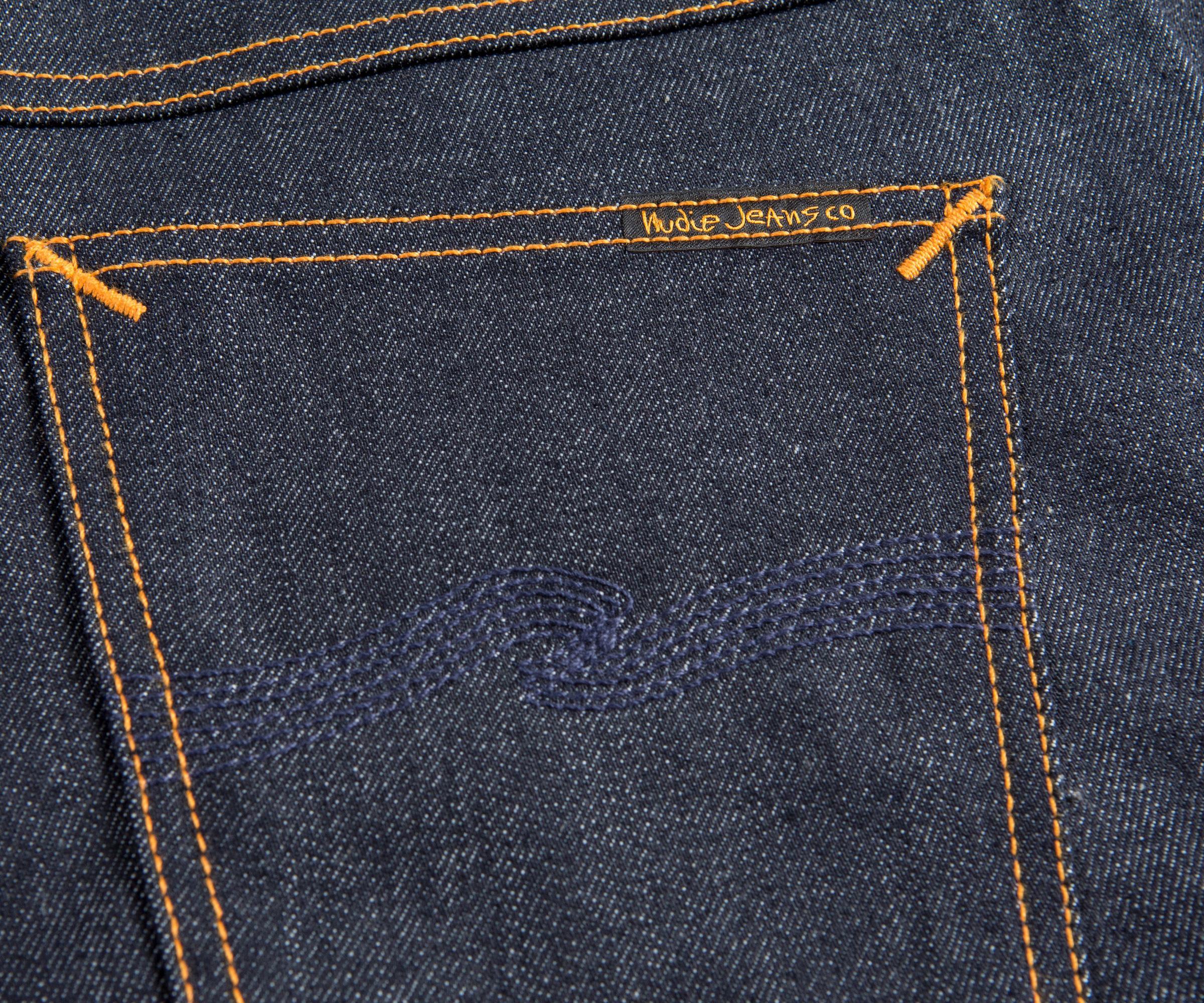 Nudie Jeans Denim 'brute Knut - Dry Navy Comfort' Jeans in Blue for Men