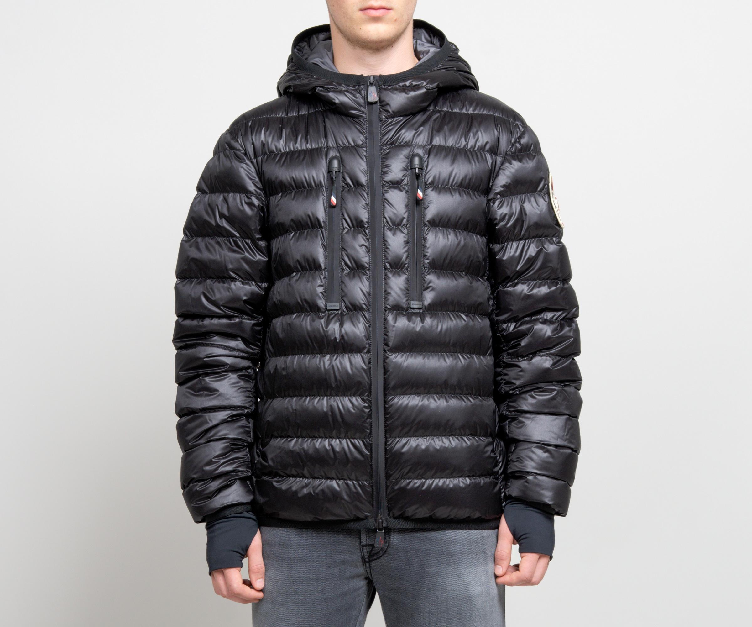 Grenoble 'kavik' Hooded Down Jacket Black