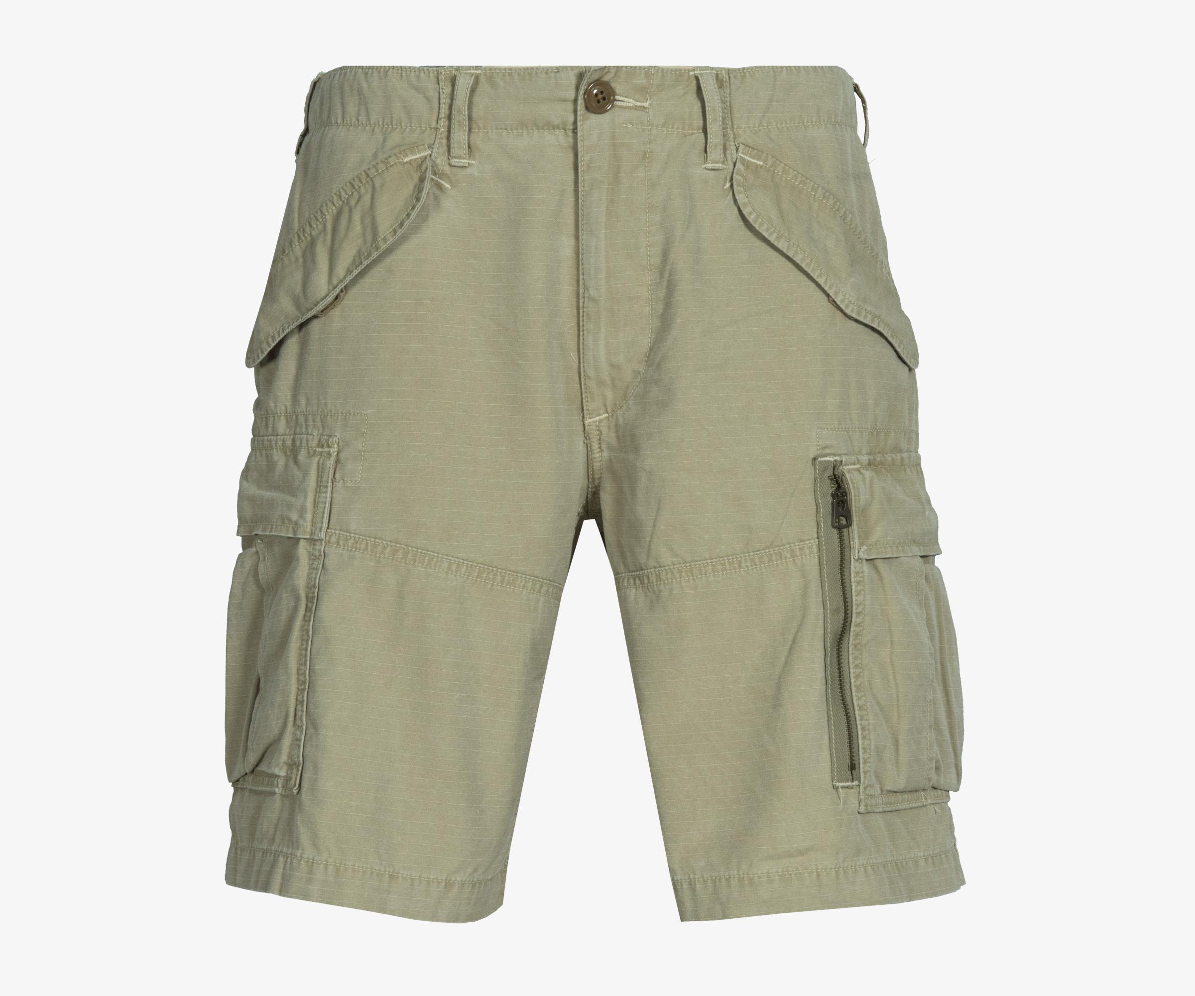 For Pocket Khaki Cargo Lauren Polo Natural Fit Boating Classic Ralph Men Short 8wP0nOk