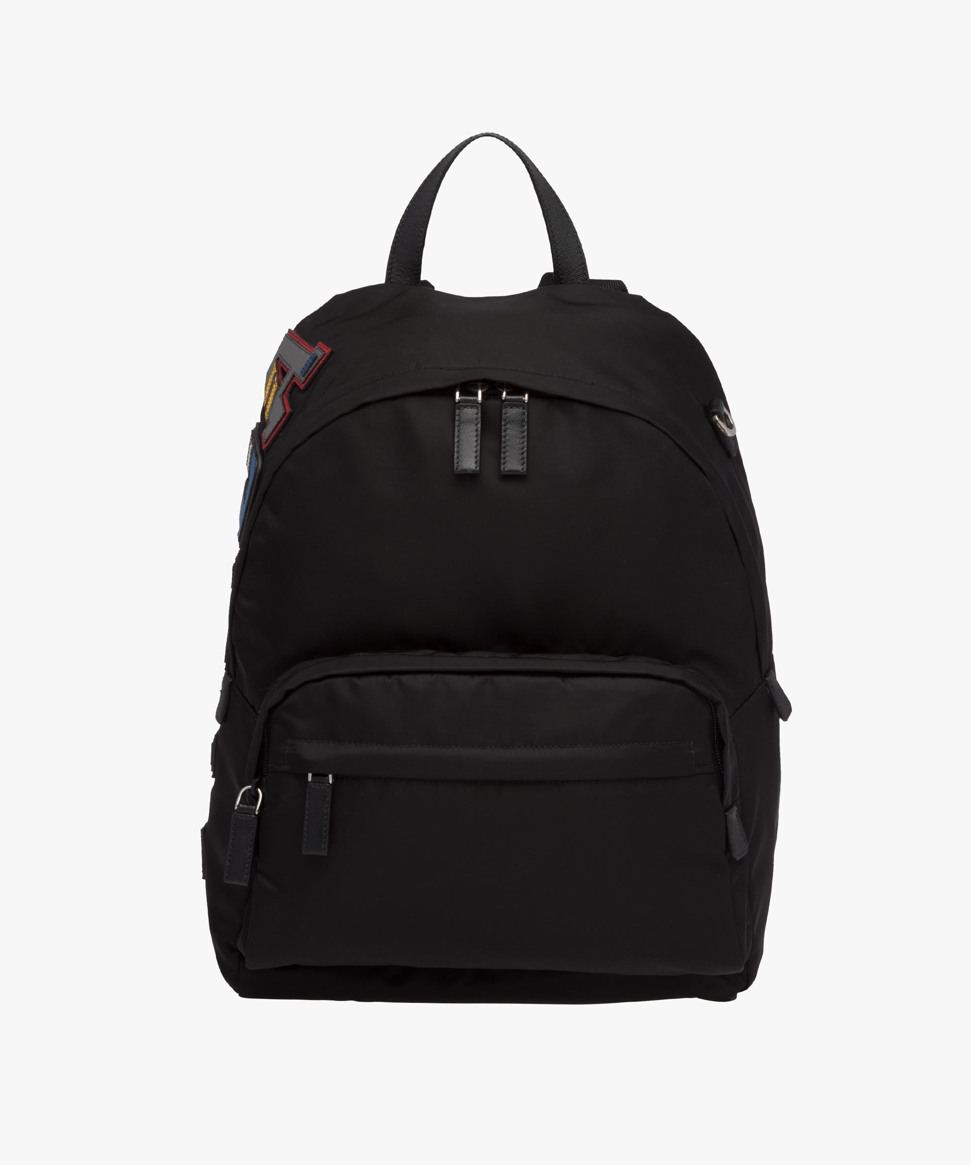 ireland prada vela messenger bag f6283 034cd  amazon lyst prada nylon and saffiano  leather backpack in black for men 29050 77019 dd4e461b29403