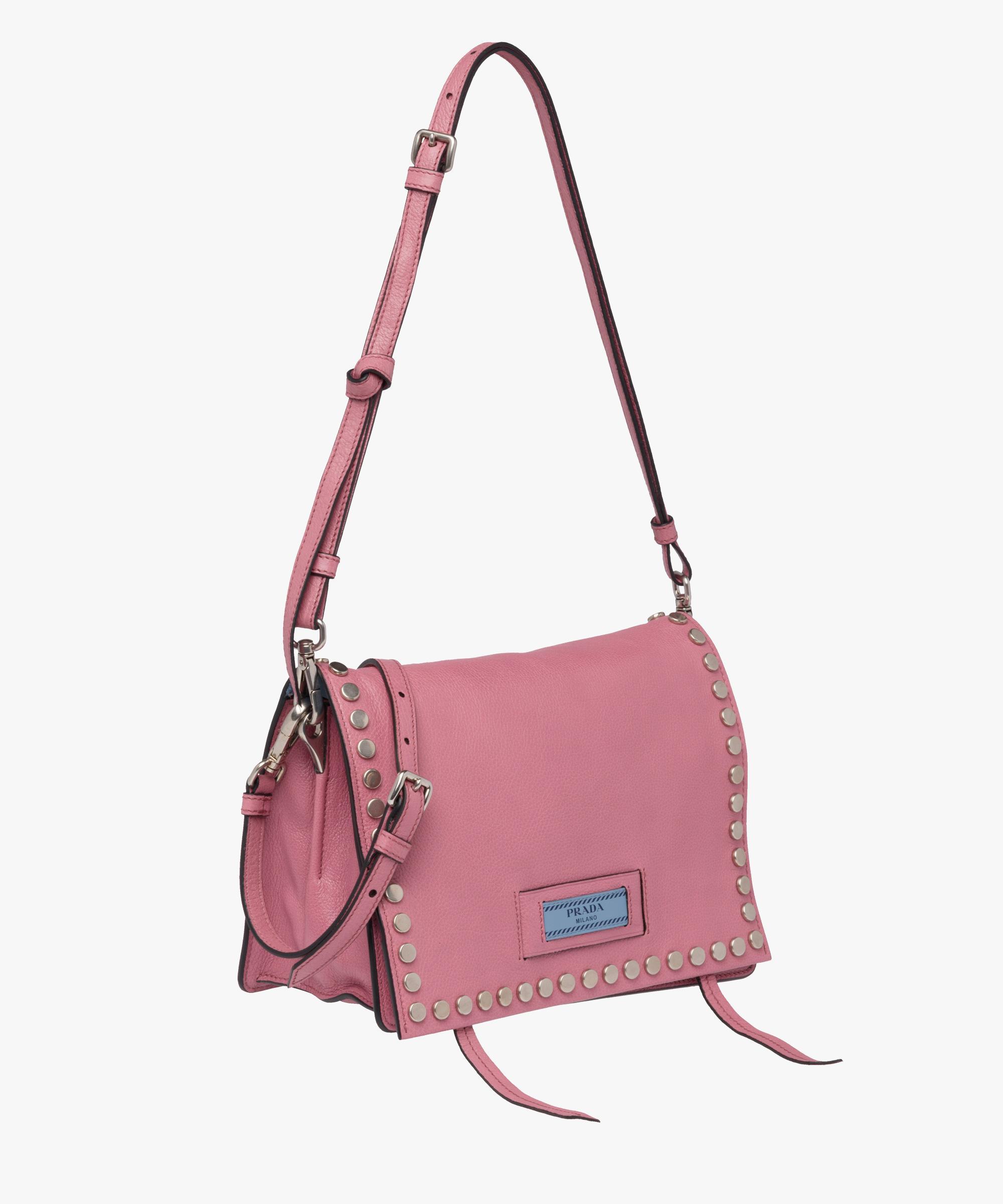 9aa7b3a393 ... czech lyst prada etiquette bag in pink fd5de a83a9